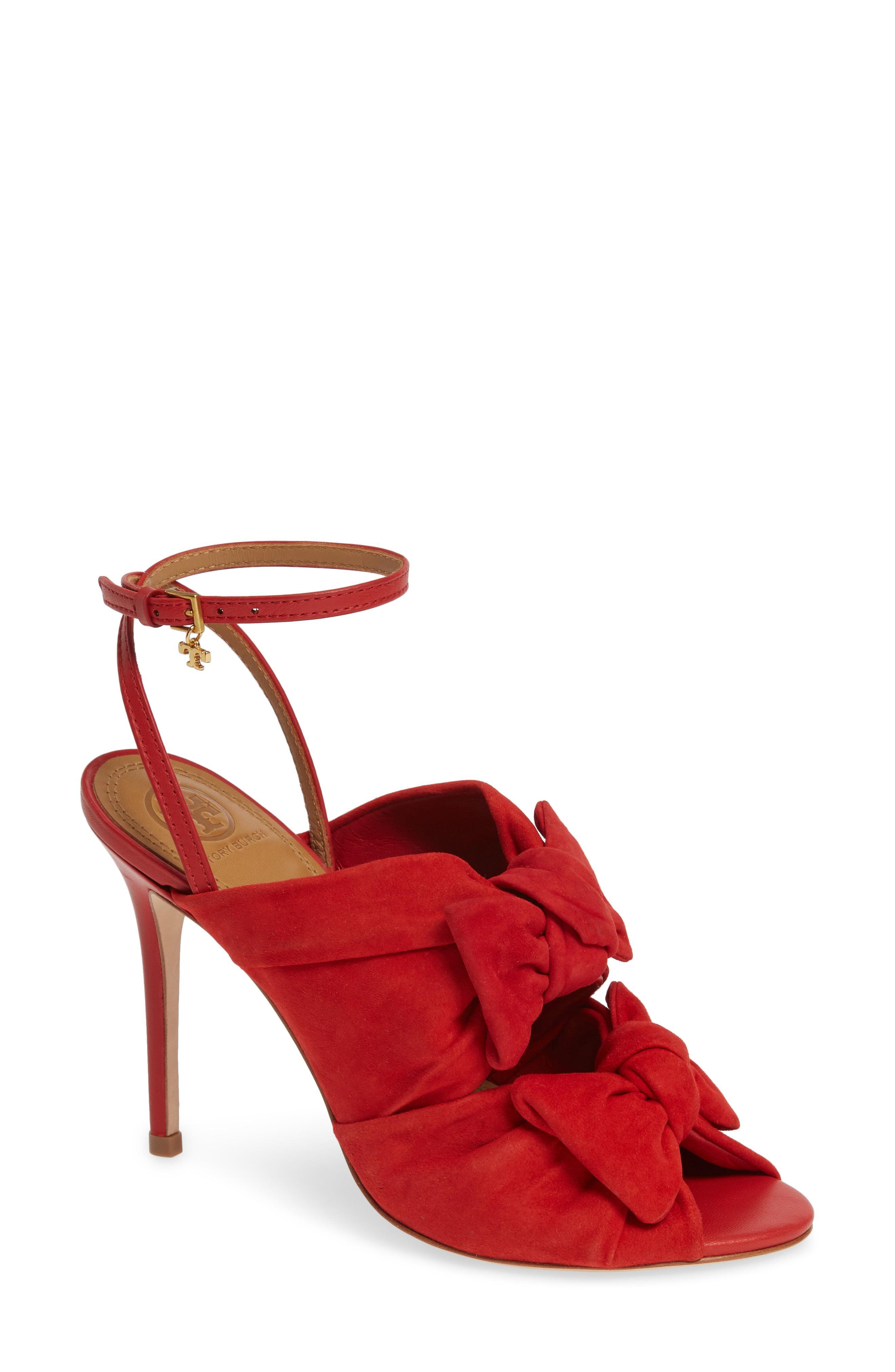 9c13520d6 Lyst - Tory Burch Eleanor Sandals in Red