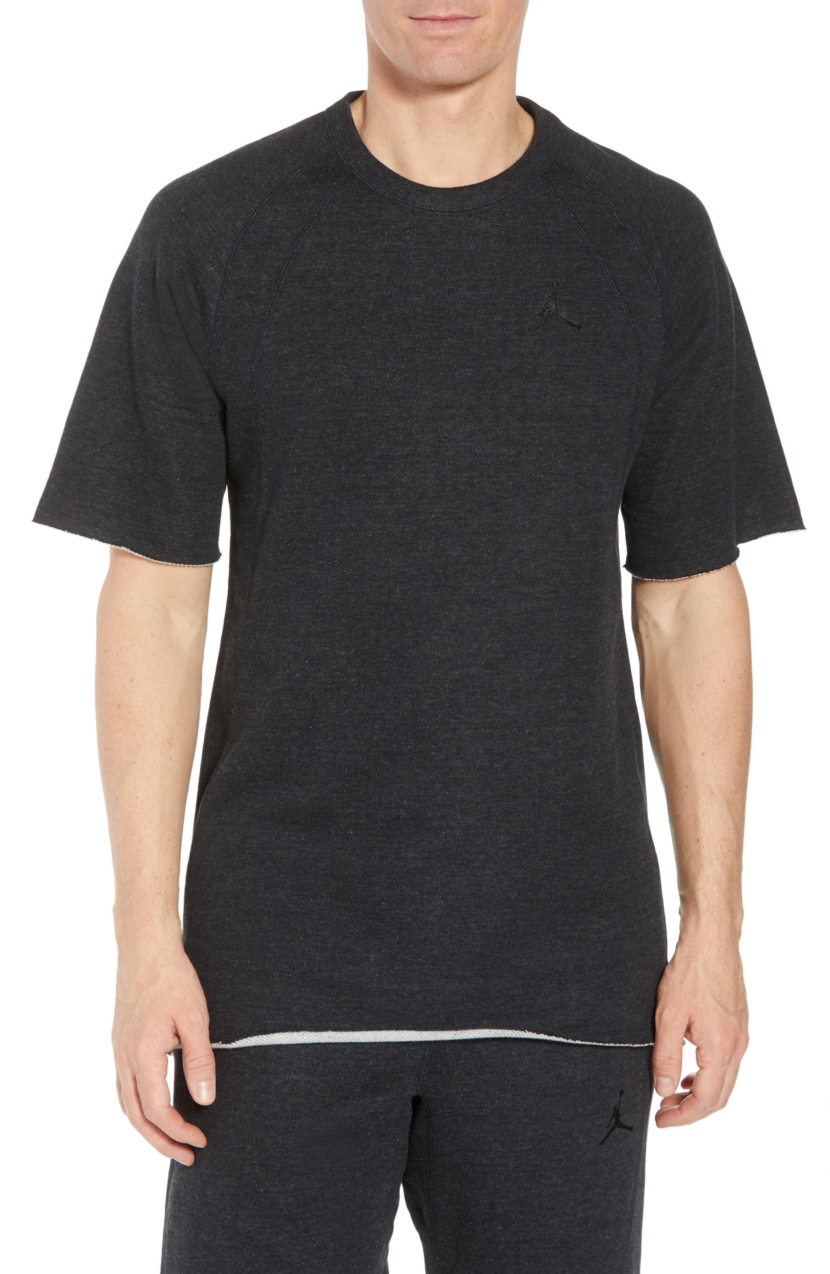 d890c00fb58 Lyst - Nike Wings Light Short Sleeve Sweatshirt in Black for Men