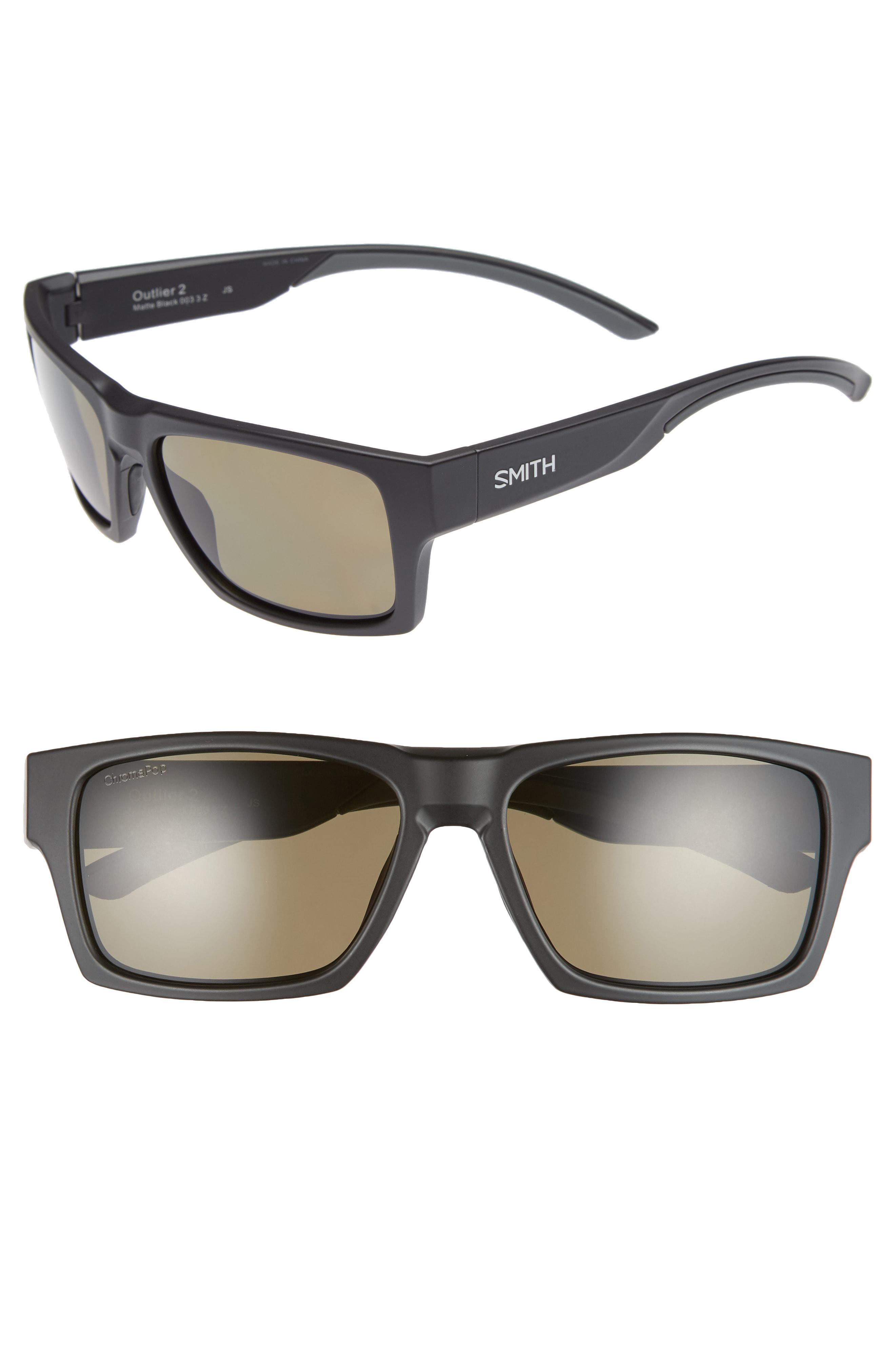 cd8329bf6b Smith - Gray Outlier 2 57mm Chromapop(tm) Sunglasses for Men - Lyst. View  fullscreen