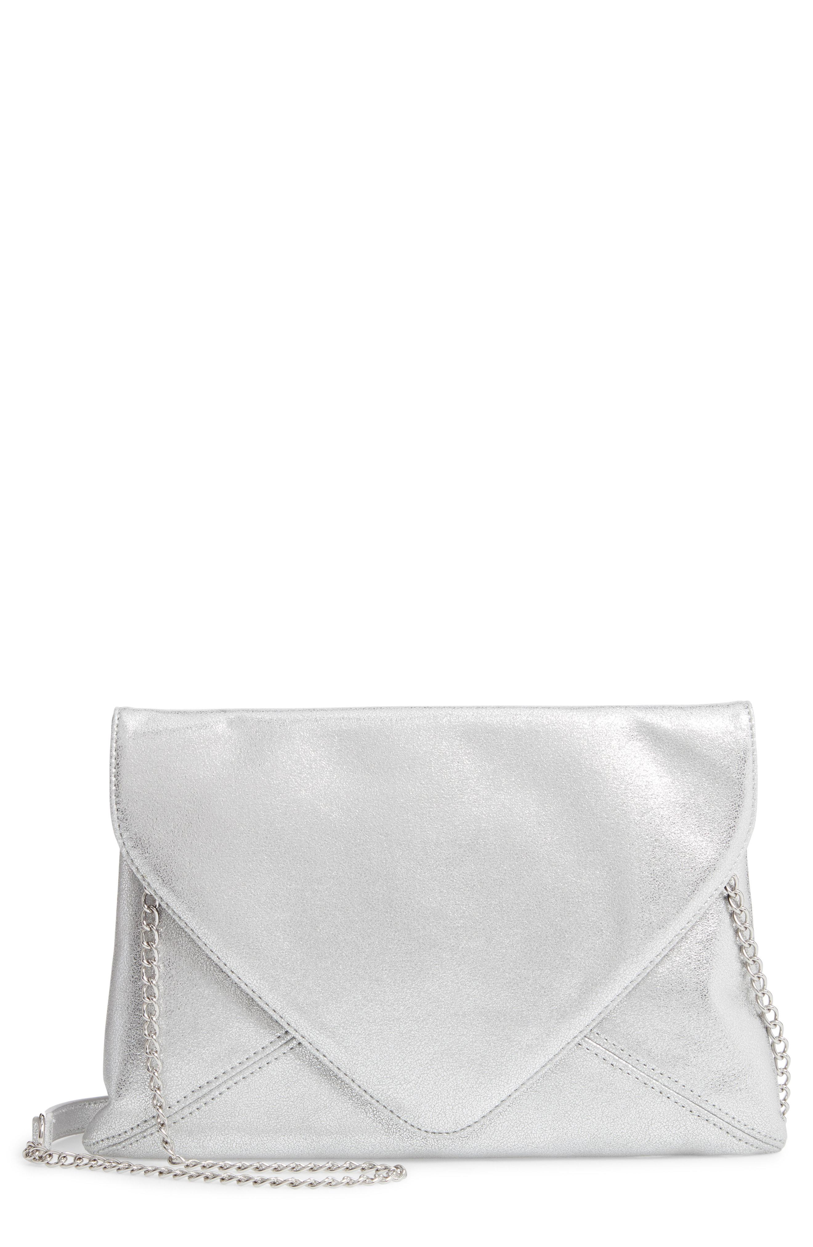 cbe79be681 Lyst - Trouvé Jade Envelope Clutch - Metallic in Metallic