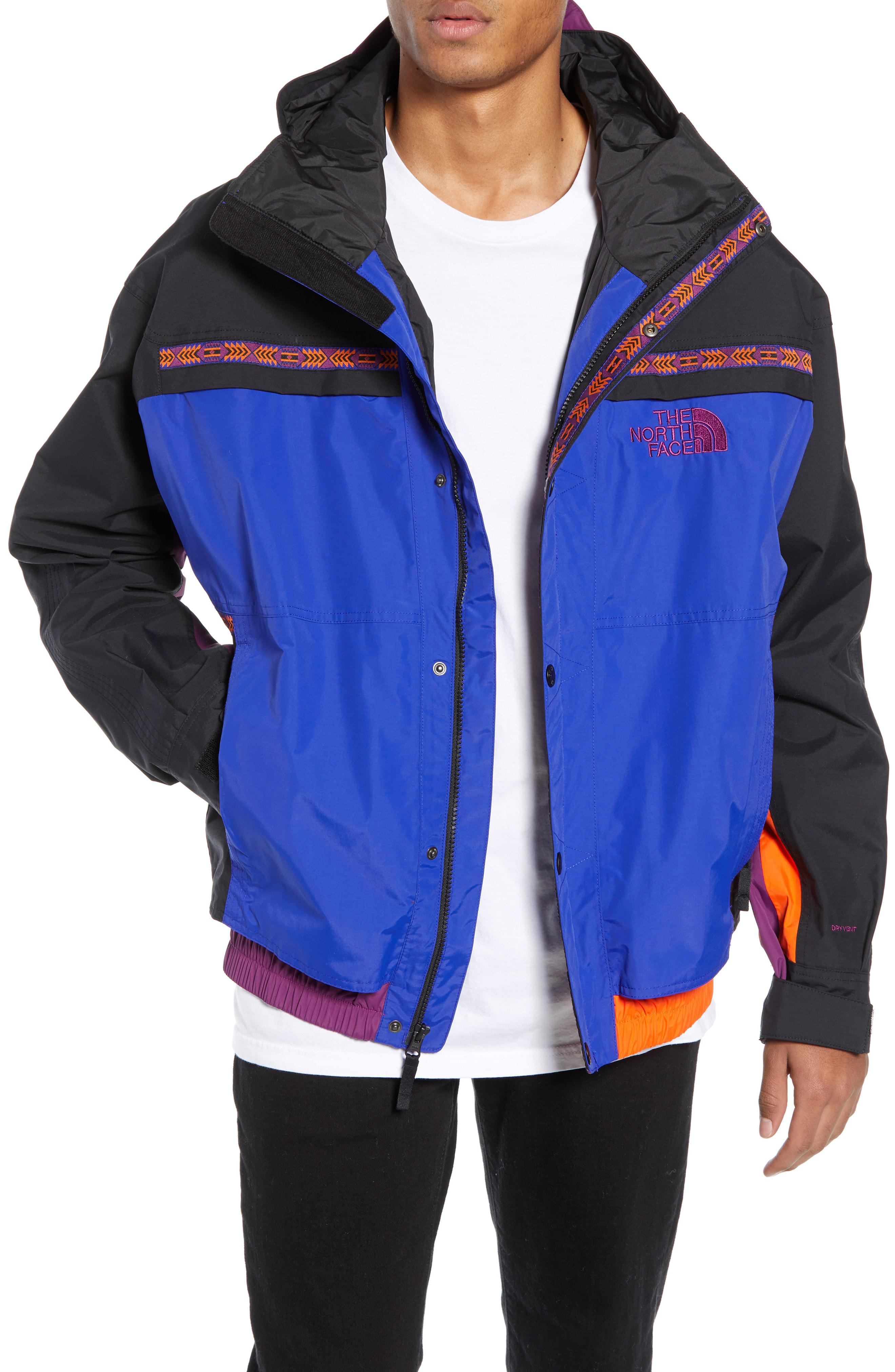 Lyst - The North Face 1992 Rage Collection Rain Jacket in Blue for ... d3d357dfcc