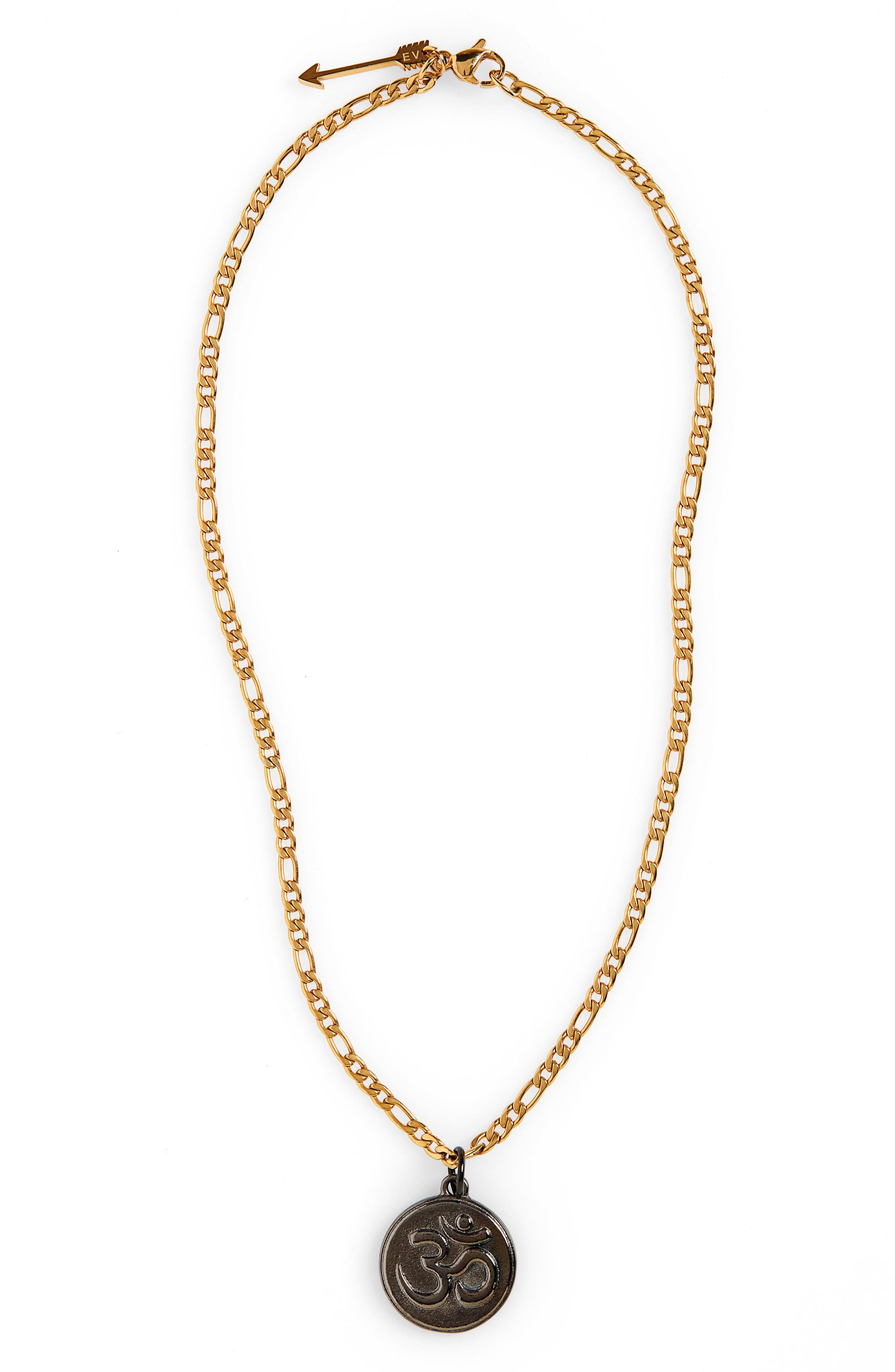 17ab7990d Lyst - Ellie Vail Makel Om Pendant Necklace in Metallic