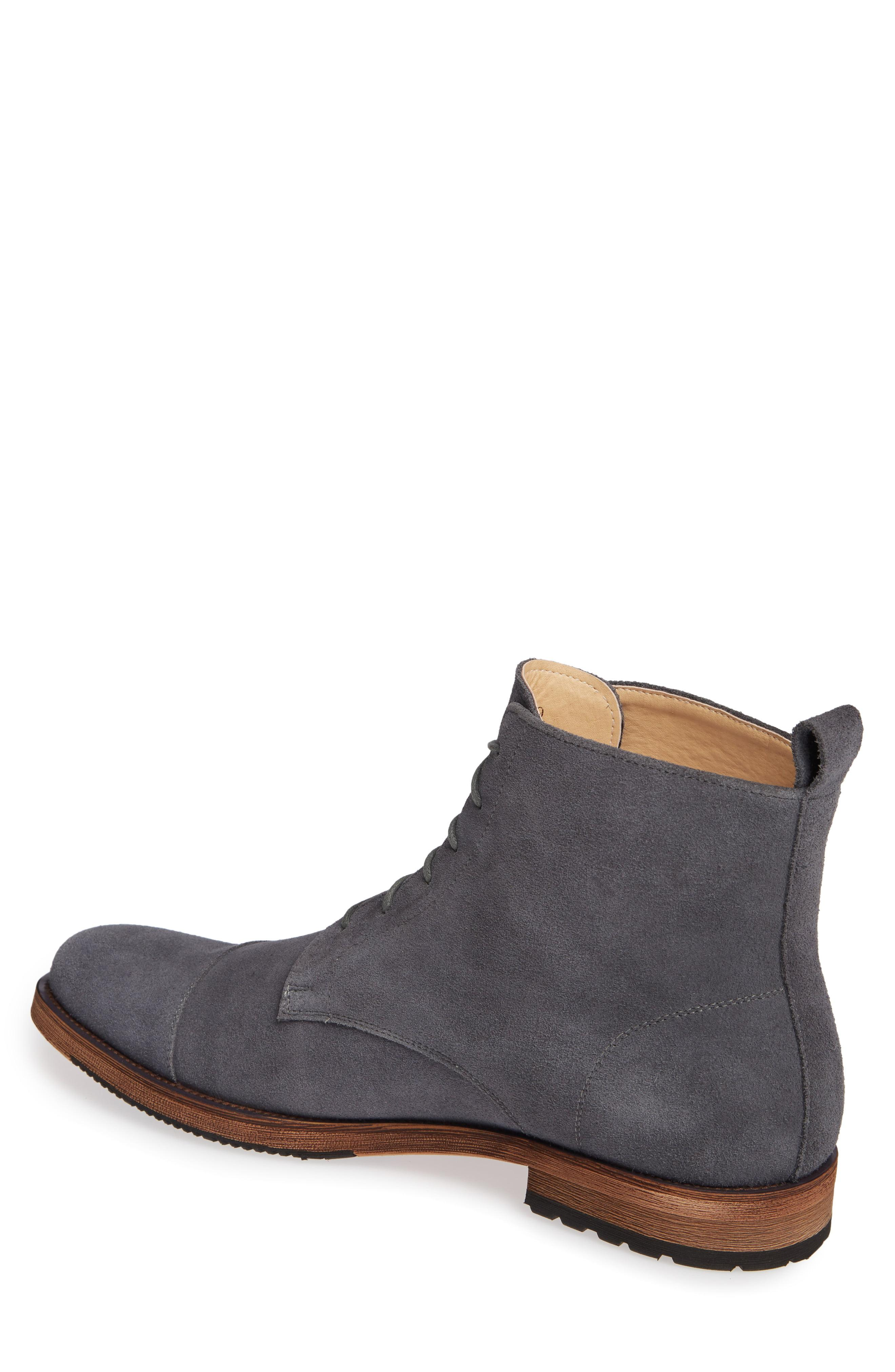 6fc038f6642dc English Laundry Swansea Cap Toe Boot in Gray for Men - Lyst