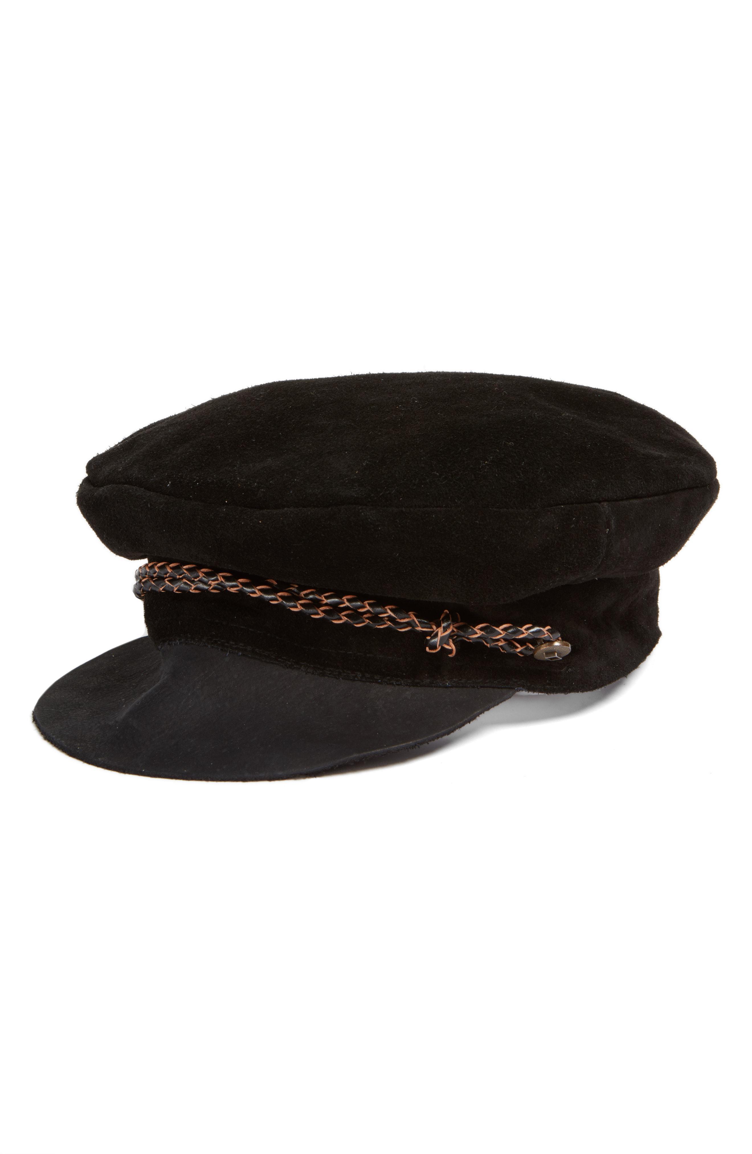 ef3f9264aff5f Brixton Kayla Cap in Black - Lyst