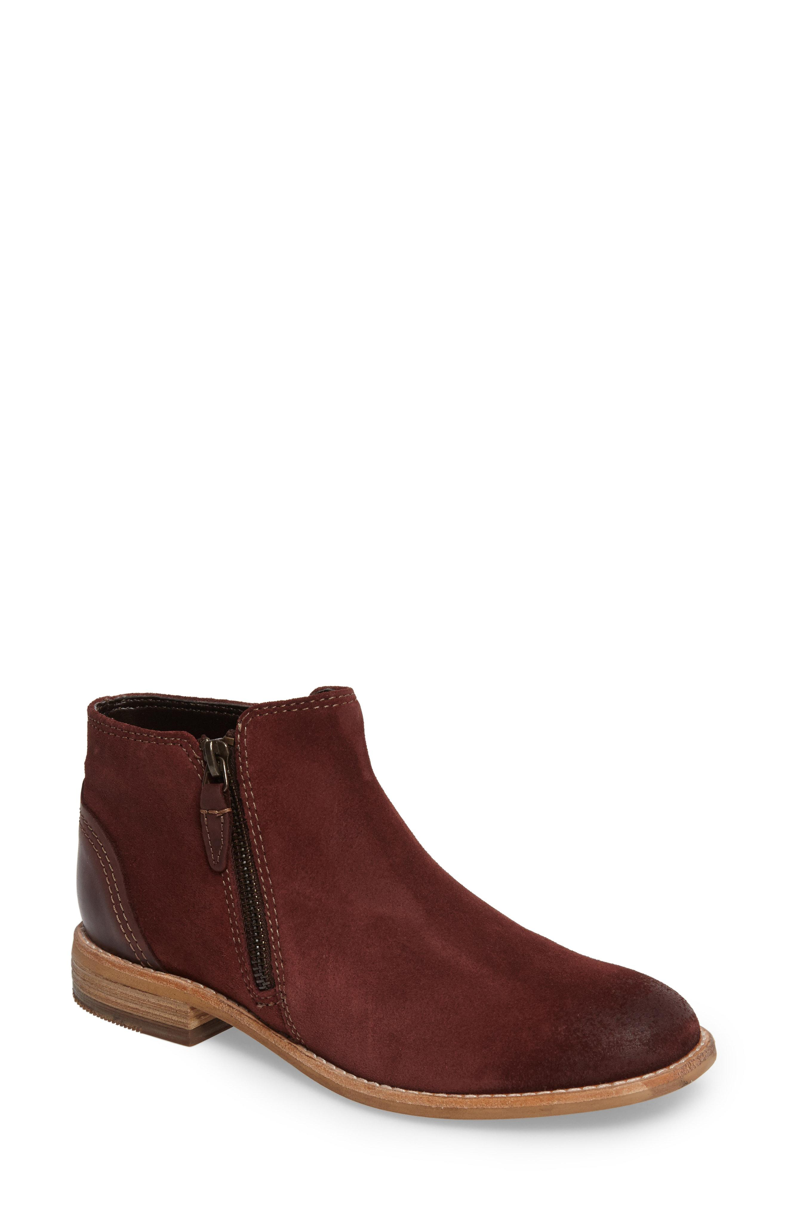 d7bf8d22b345 Lyst - Clarks Clarks Maypearl Juno Ankle Boot in Brown