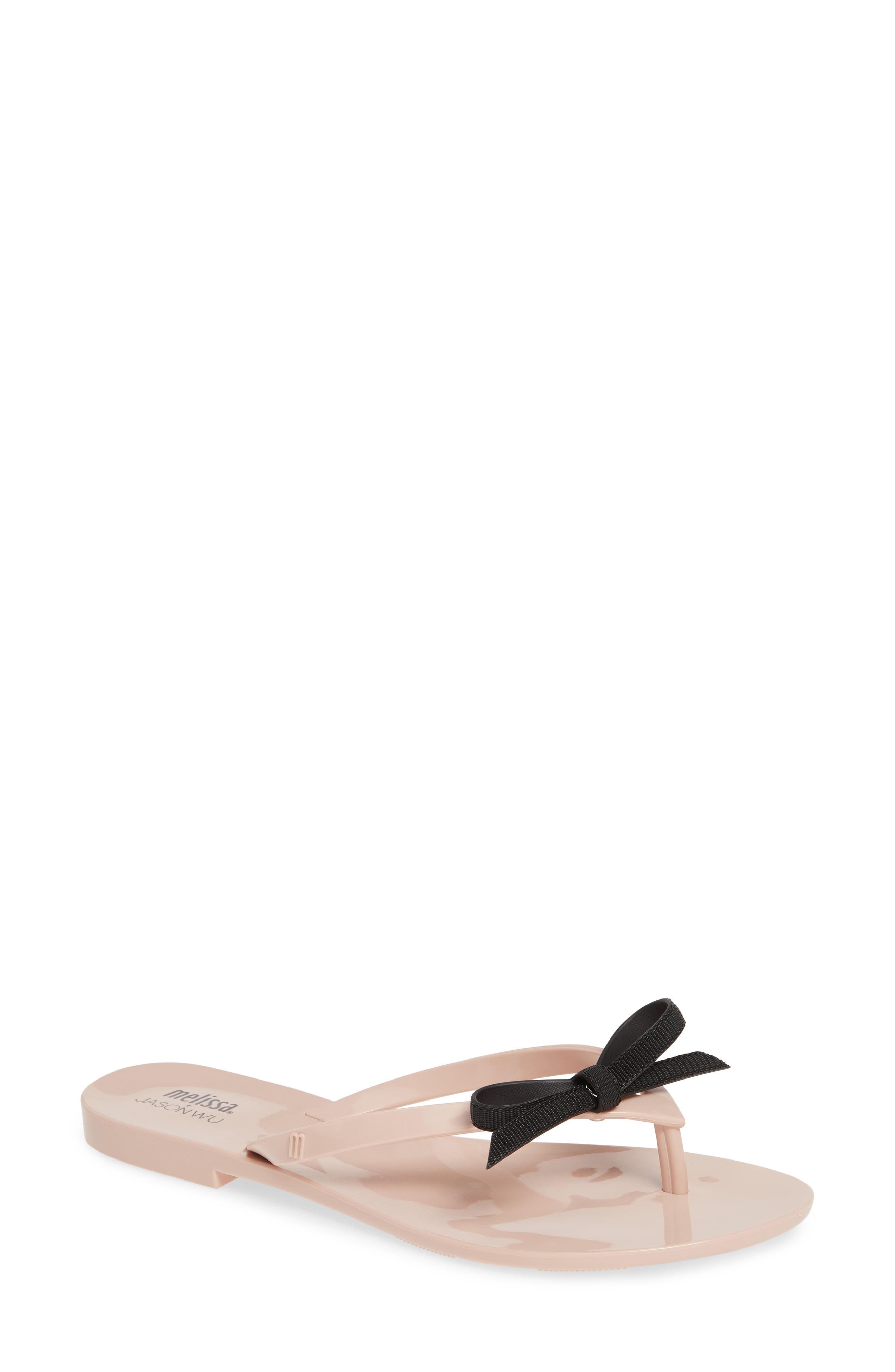 f9de6ccb49a Lyst - Melissa Harmonic Bow Jelly Flip Flop in Black