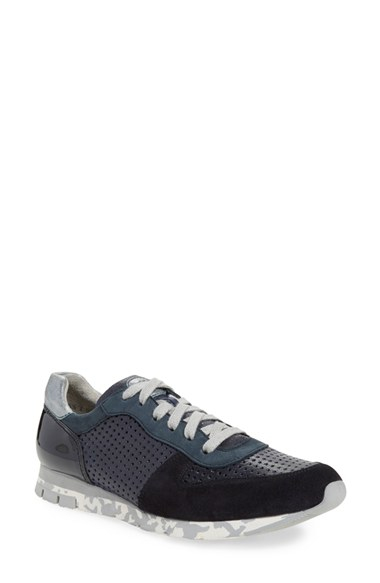 paul green 39 hermosa 39 sneaker in blue lyst. Black Bedroom Furniture Sets. Home Design Ideas