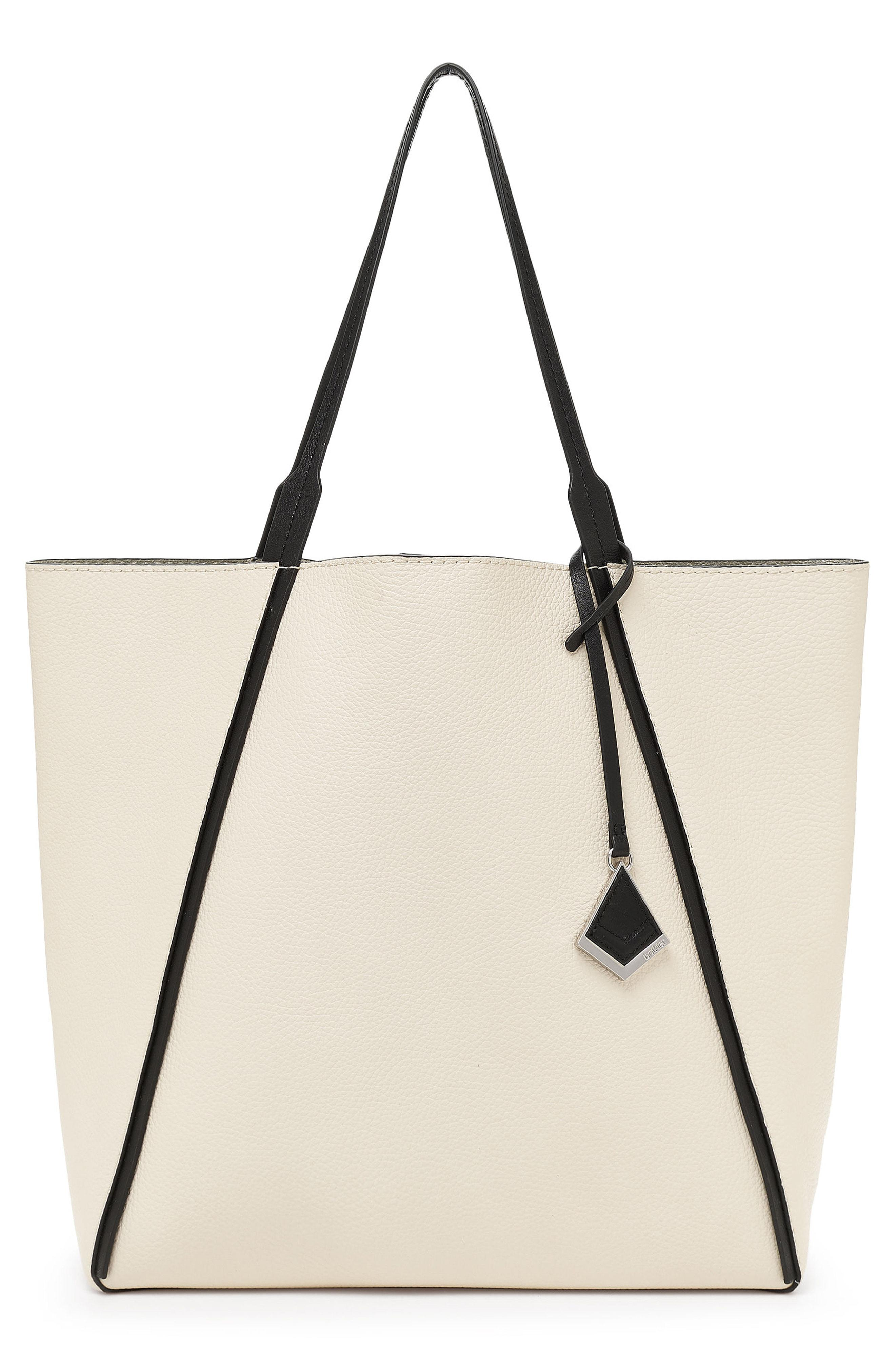 37dd6a065 Lyst - Botkier Trinity Calfskin Leather Tote in White