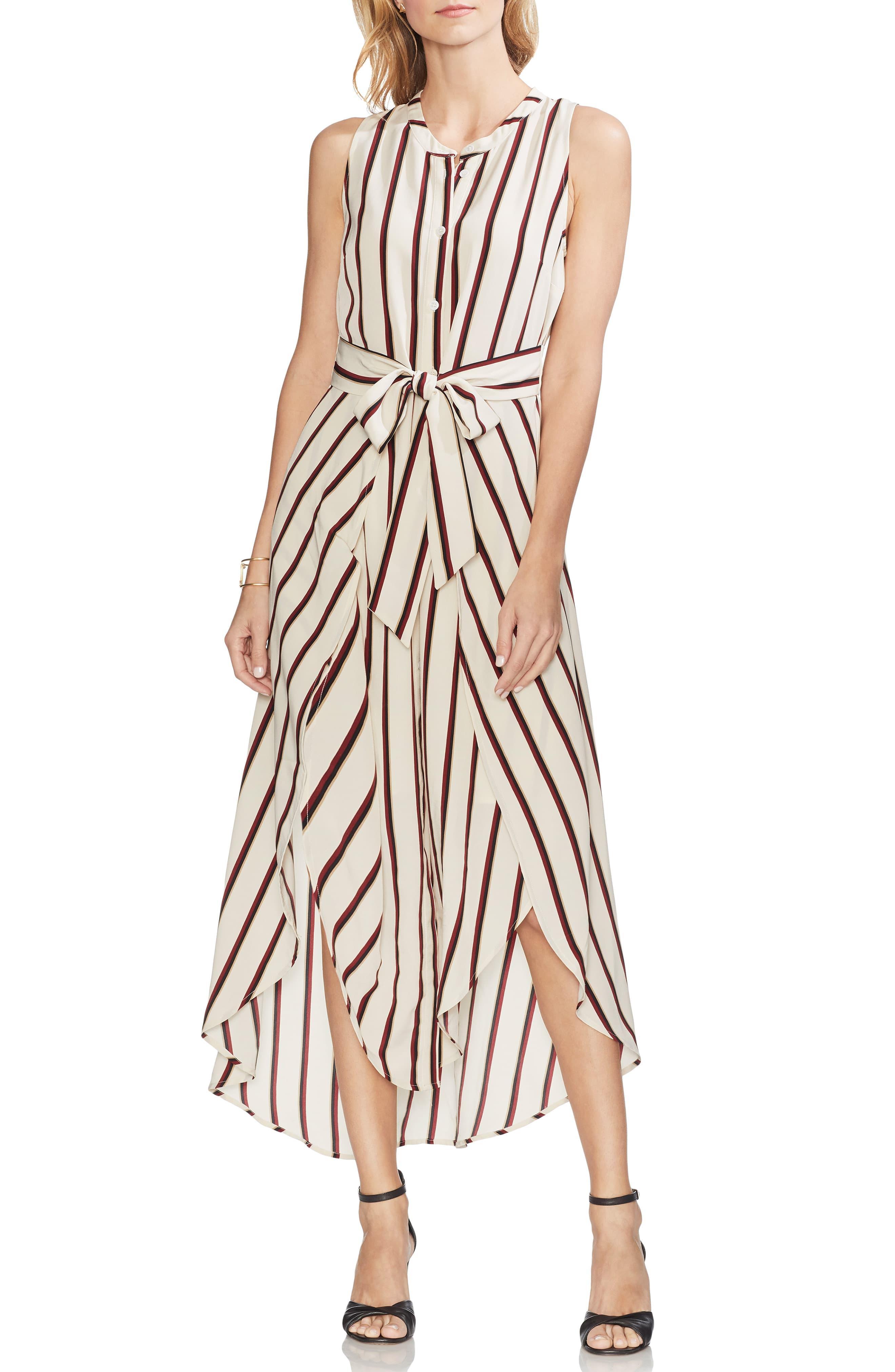 3c9f3784e80 Vince Camuto Caravan Stripe Maxi Dress - Save 47% - Lyst
