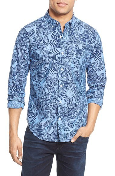 c50567e7d1b9 Bonobos  summer Weight  Slim Fit Floral Print Sport Shirt .
