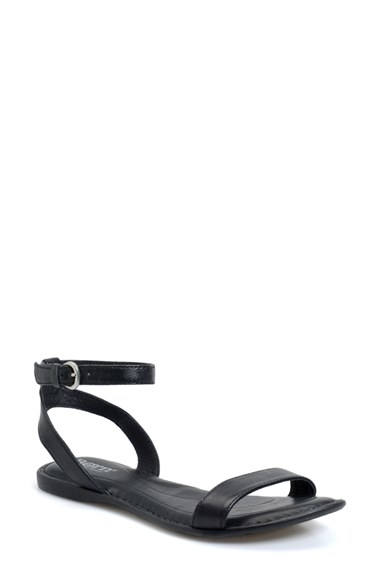 Lyst Born Stephane Ankle Strap Sandal In Black