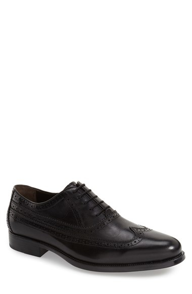 Johnston Amp Murphy Duvall Wingtip In Black For Men Lyst