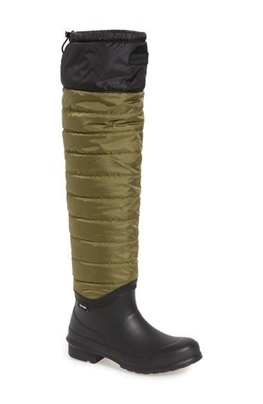 Excellent $55 Tretorn 472384-02 Skerry Reslig Vinter WOMEN Rain Boots OLIVE Size 6 NEW | EBay