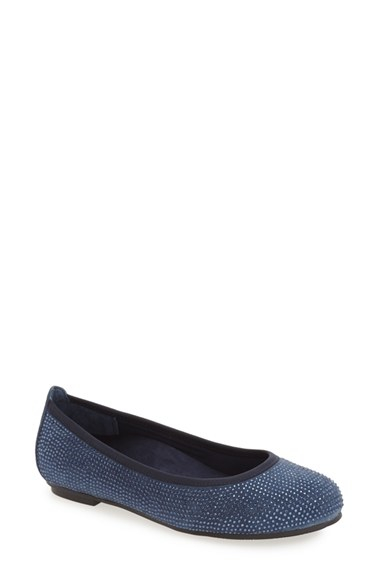 7e6a32b368 Lyst - Vionic 'Spark Willow' Ballet Flat in Blue
