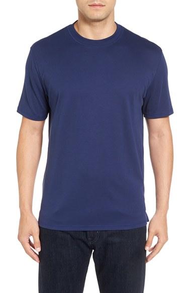 Robert talbott liquid jersey pima cotton crewneck t shirt for Robert talbott shirts sale
