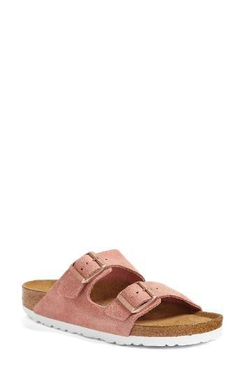 birkenstock arizona birko flor soft footbed slide sandal. Black Bedroom Furniture Sets. Home Design Ideas