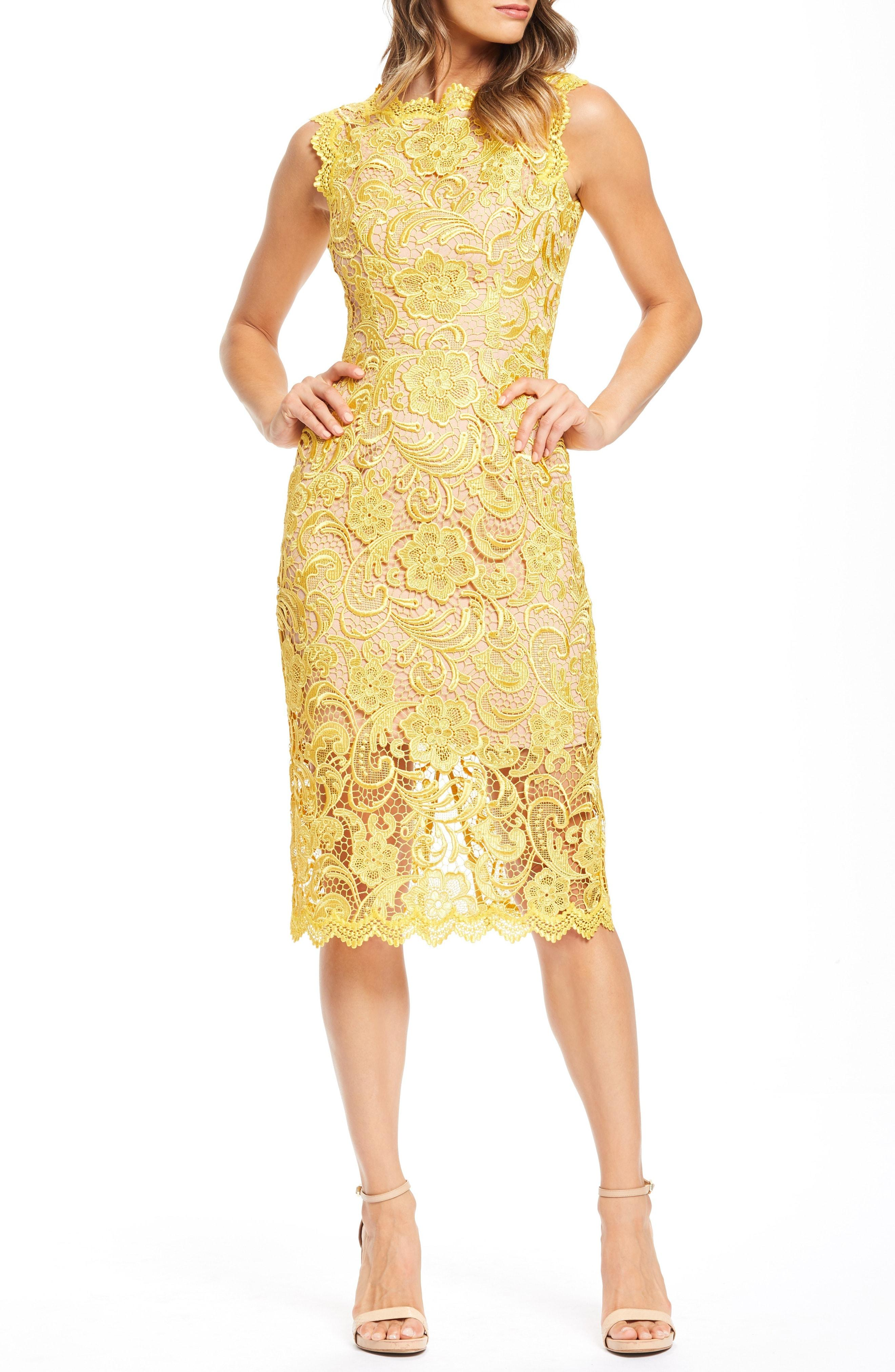 9414434afc6c Eliza J Lace Sheath Dress Nordstrom
