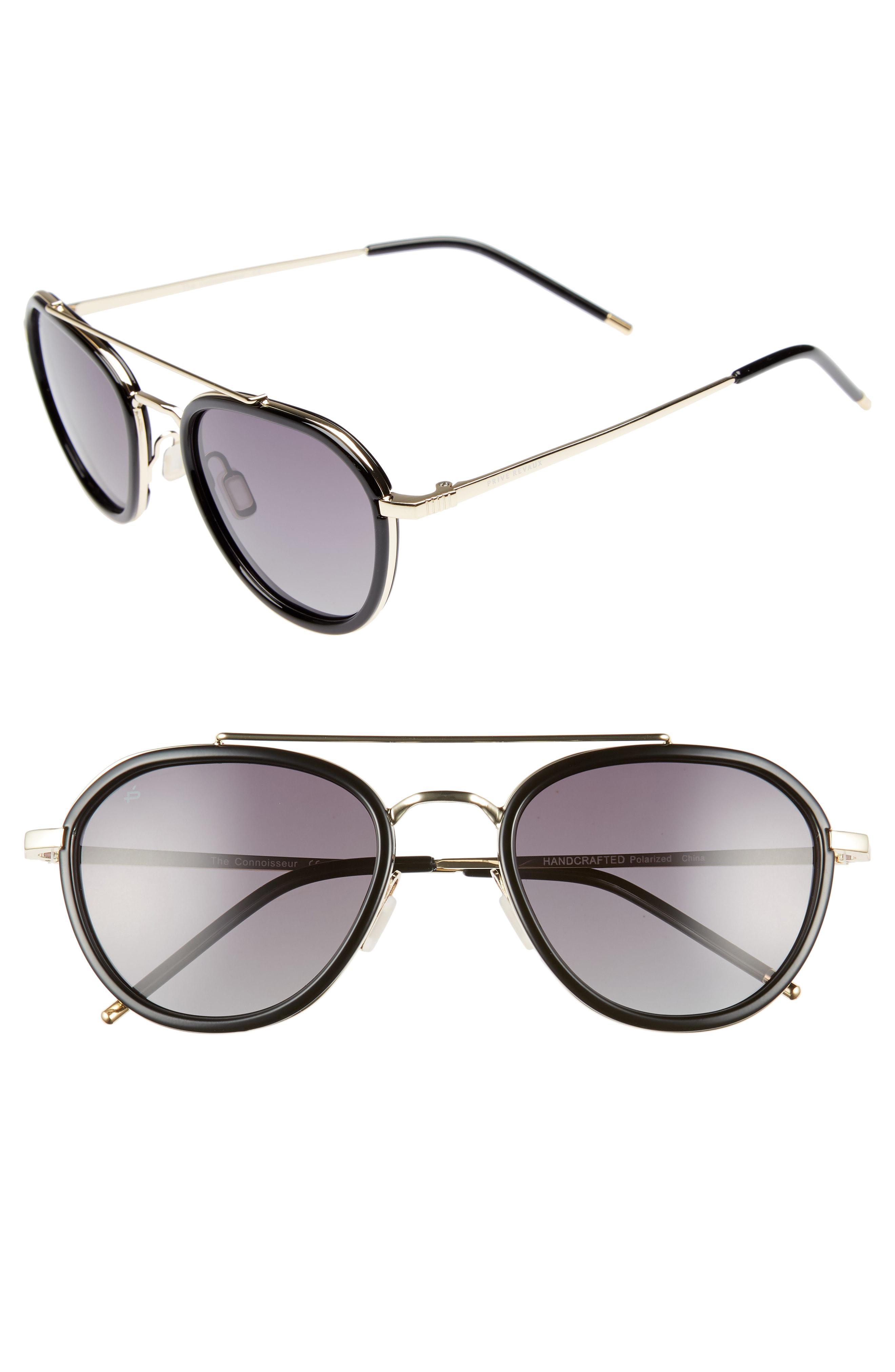 827226e1ecac9 Lyst - Privé Revaux The Connoisseur 53mm Polarized Sunglasses in ...