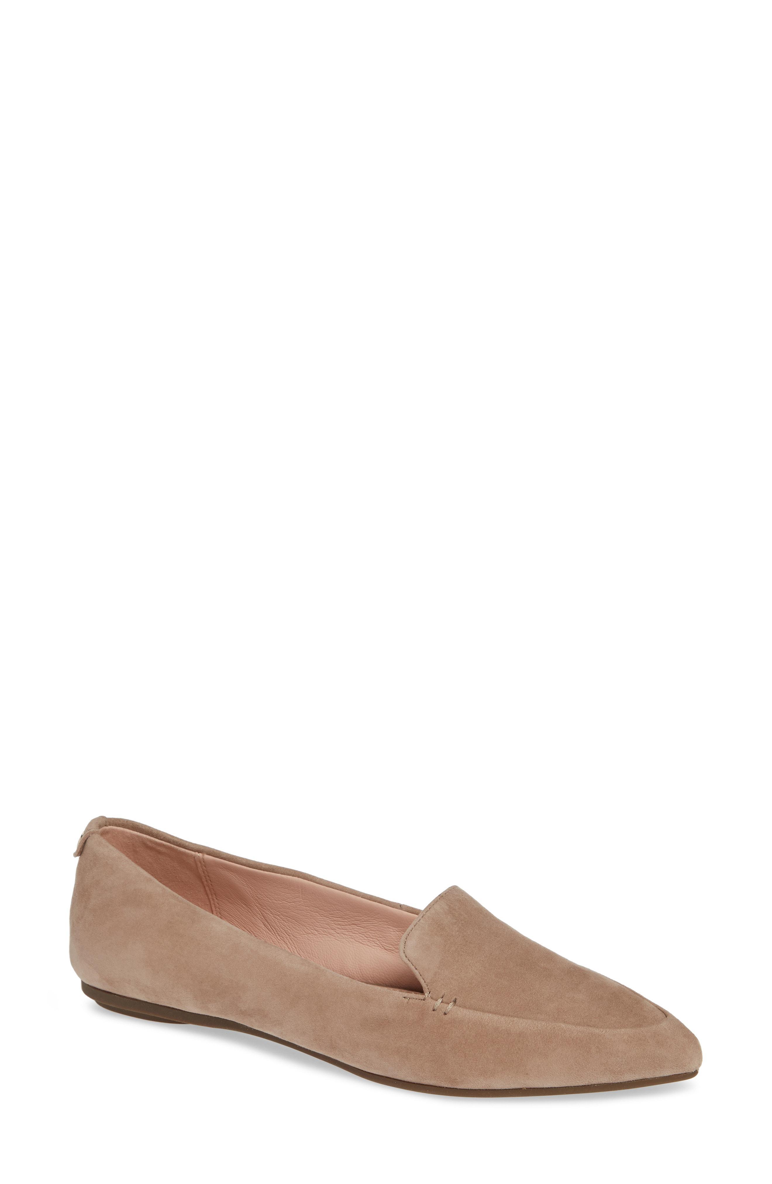 06fa620f290 Lyst - Taryn Rose Faye Pointy Toe Loafer in Pink