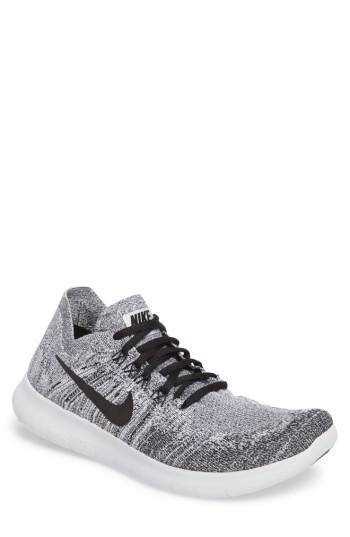nike free rn flyknit 2018 men's running shoe$120 nz