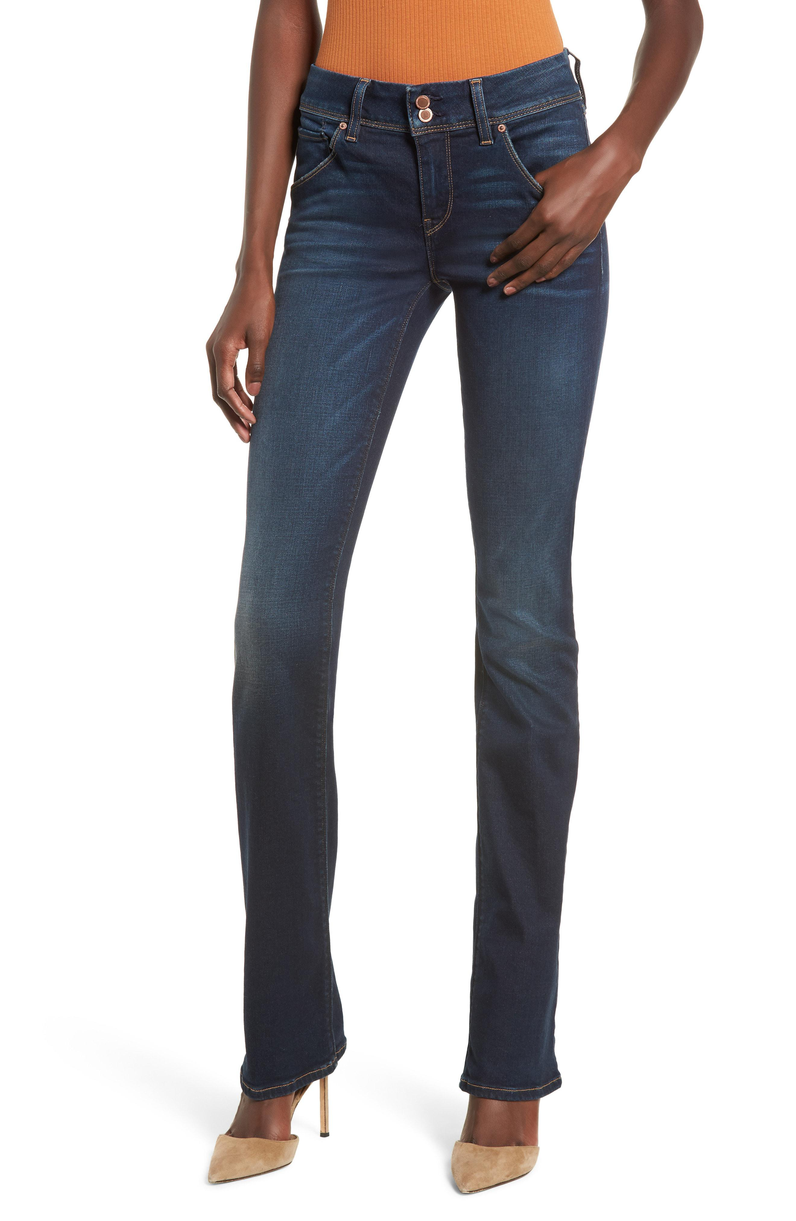 1a5e672236d Lyst - Hudson Beth Baby Bootcut Jeans in Blue