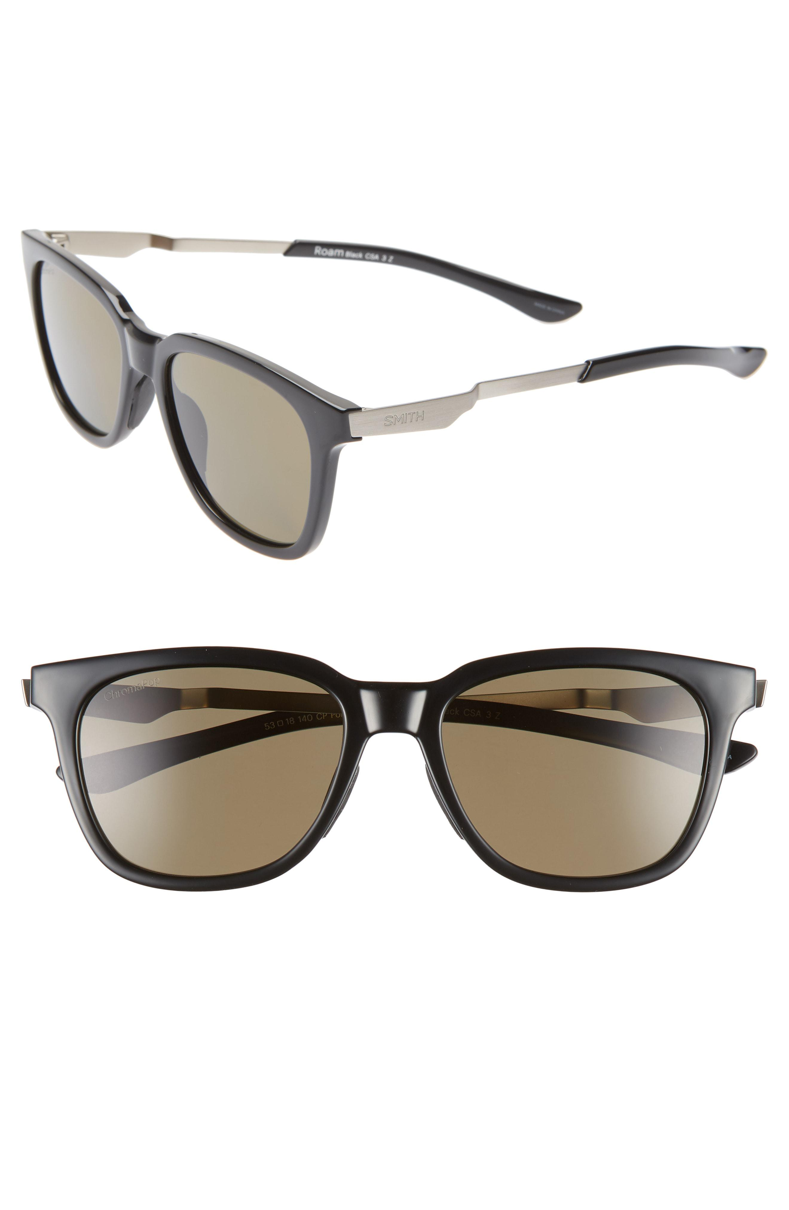 6e0a4019dc Smith - Multicolor Roam 53mm Chromapop(tm) Polarized Sunglasses - - Lyst.  View fullscreen