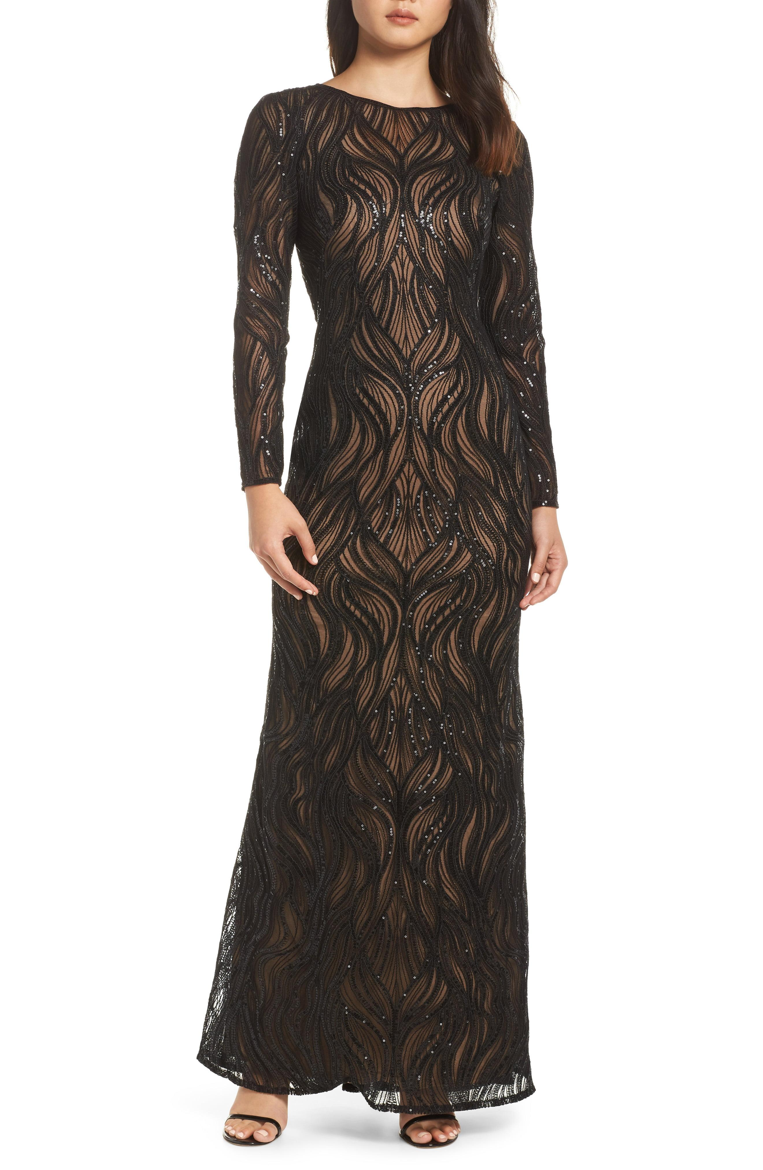 d80b50ad355 Womens Chaps Sequin Jersey Evening Gown - Gomes Weine AG