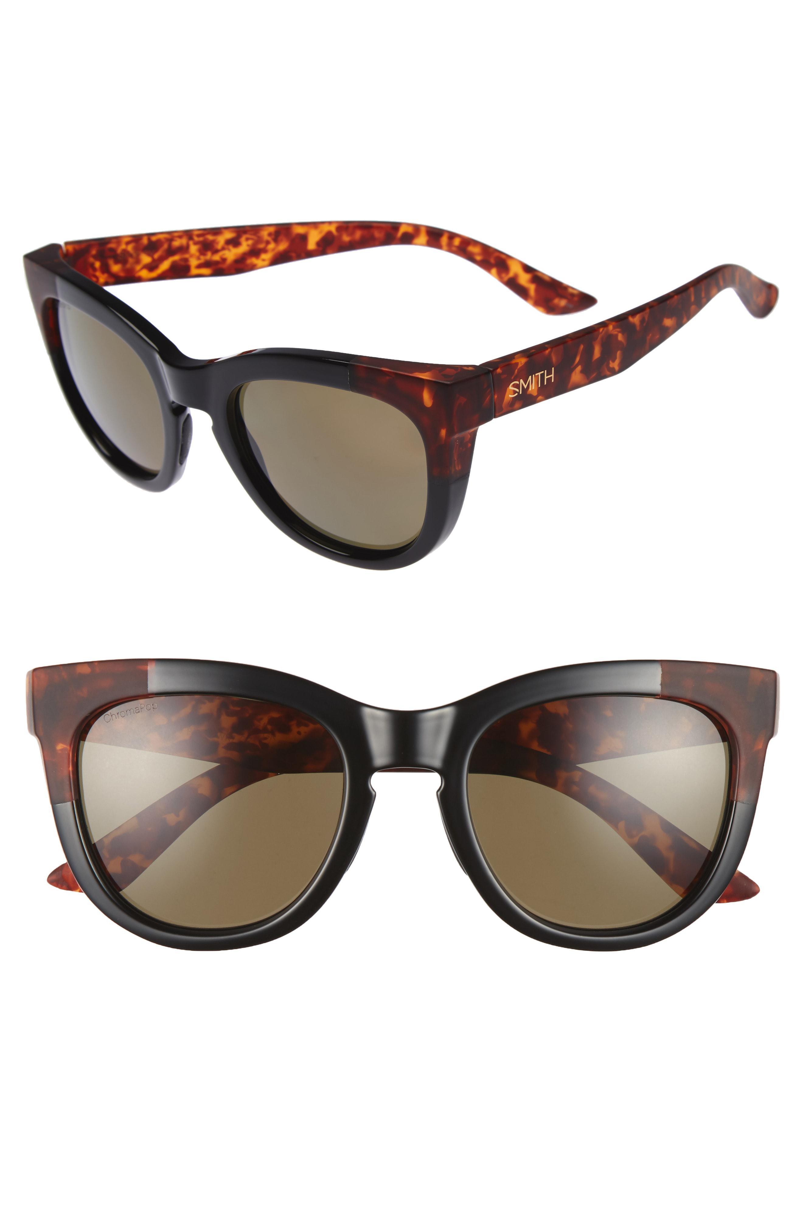 49e50369ad Smith - Black  sidney  55mm Polarized Sunglasses - Lyst. View fullscreen