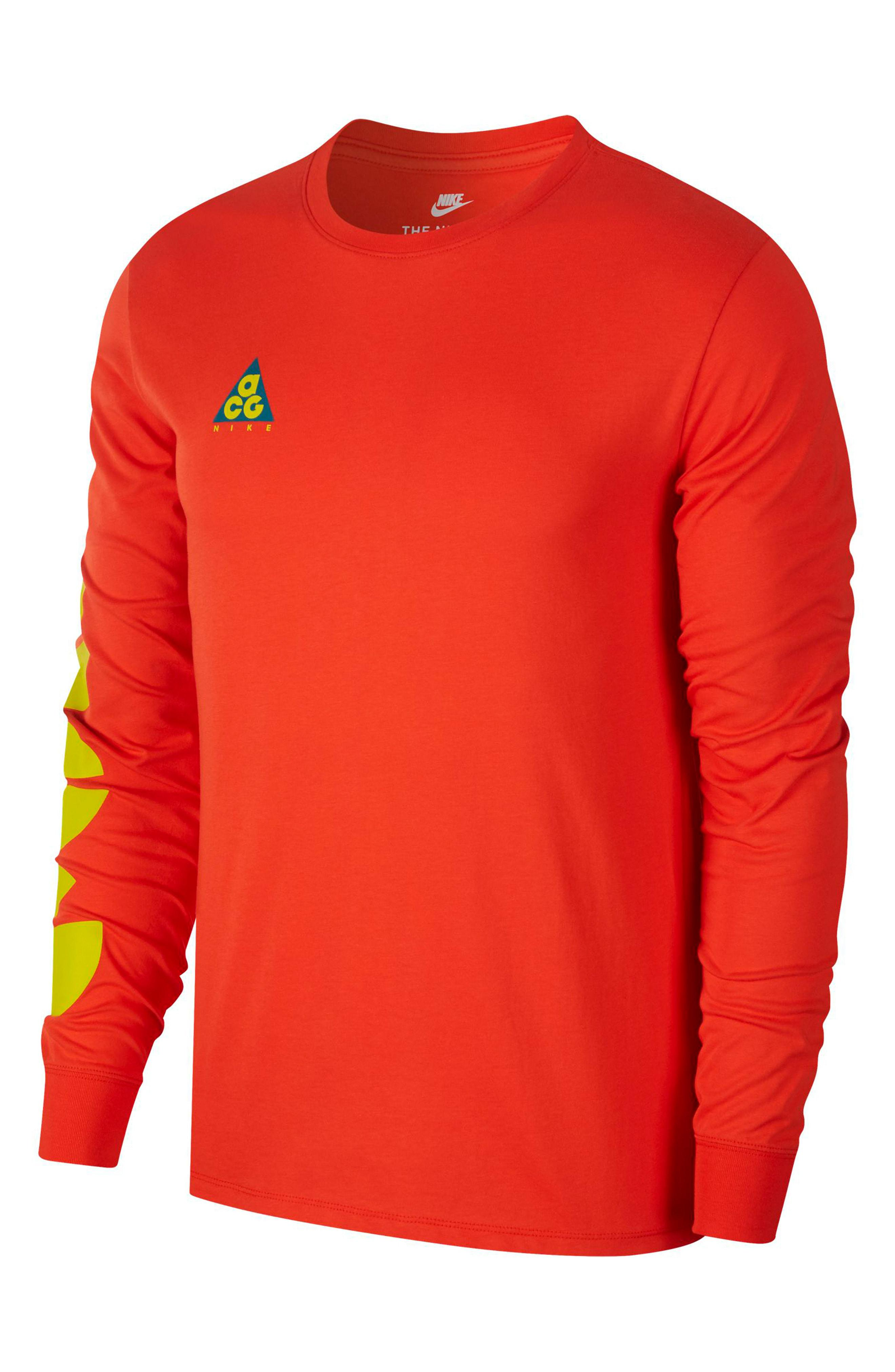 huge discount 717d3 88638 Nike - Red Nsw Acg Graphic T-shirt for Men - Lyst. View fullscreen