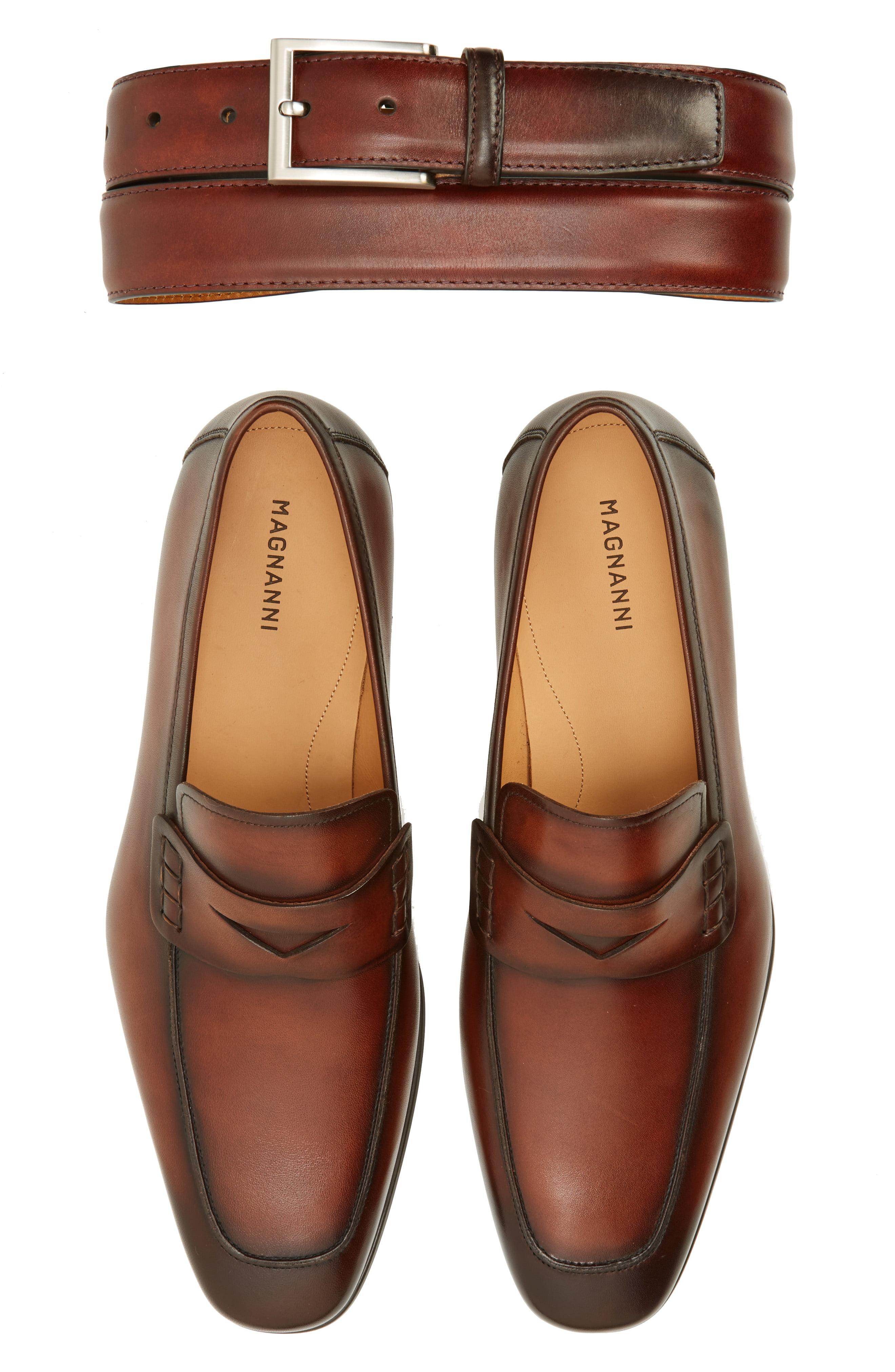 bd069b07727 Magnanni Shoes - Brown  ramiro Ii  Penny Loafer for Men - Lyst. View  fullscreen