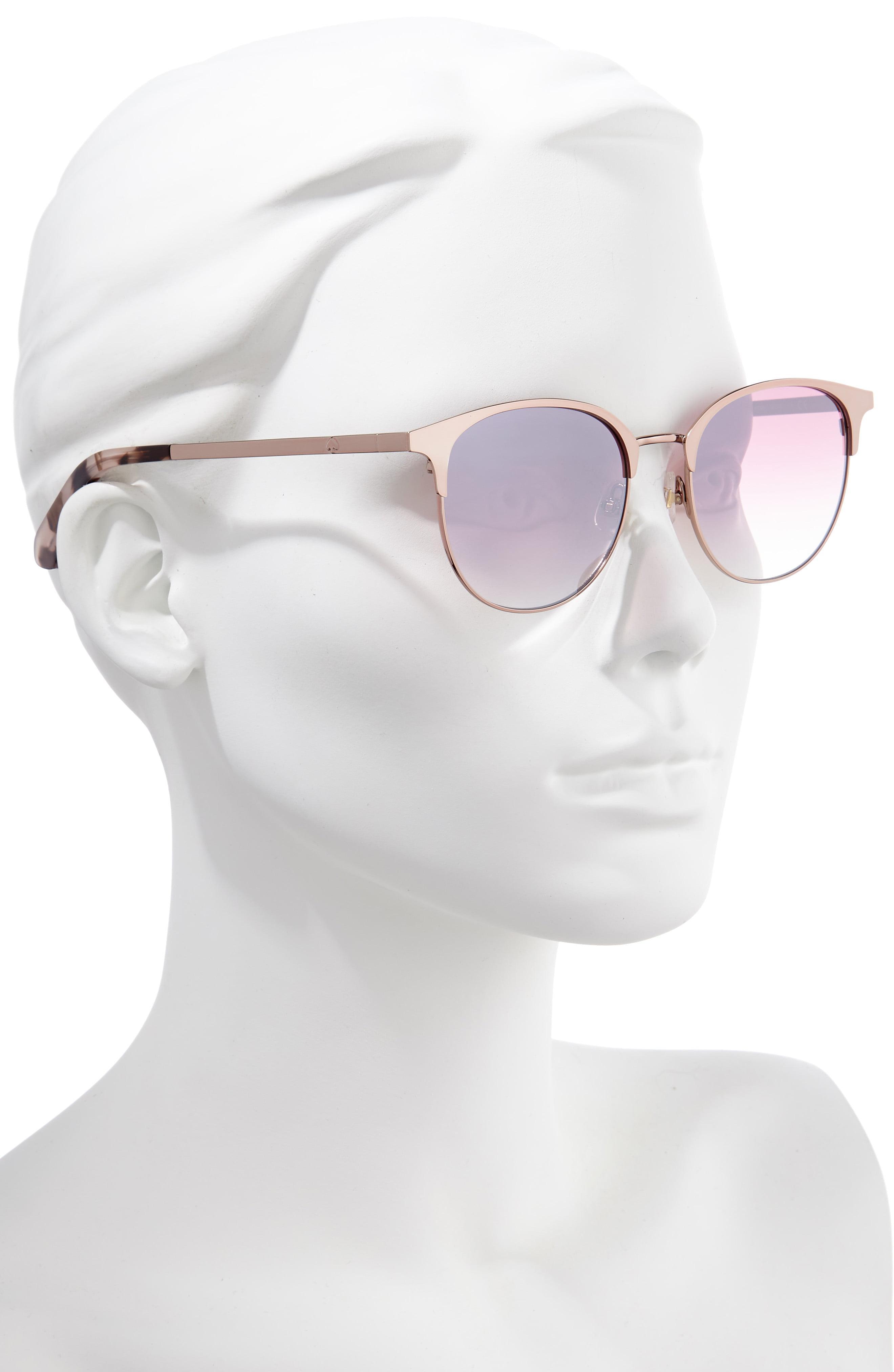 5b98c7b9cb6c Kate Spade - Pink Joelynn 52mm Sunglasses - Lyst. View fullscreen