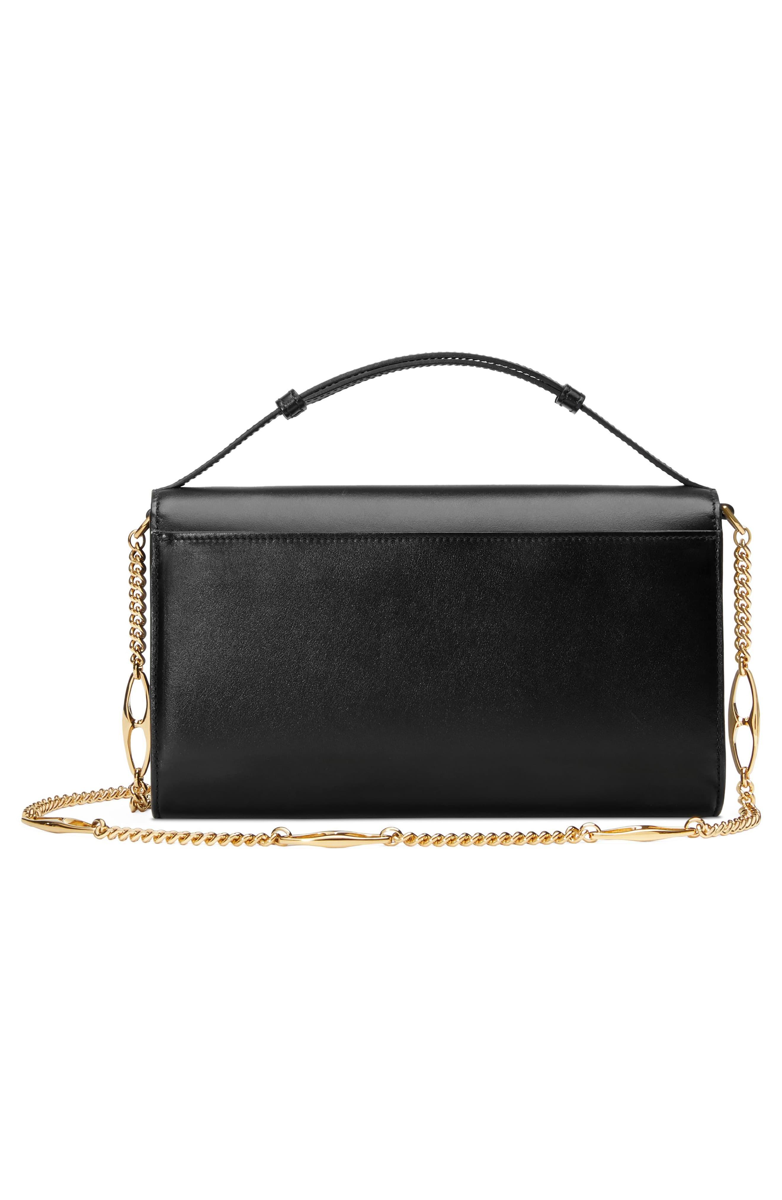 2f36eb31ab53 Gucci - Black Zumi Smooth Leather Small Shoulder Bag - Lyst. View fullscreen