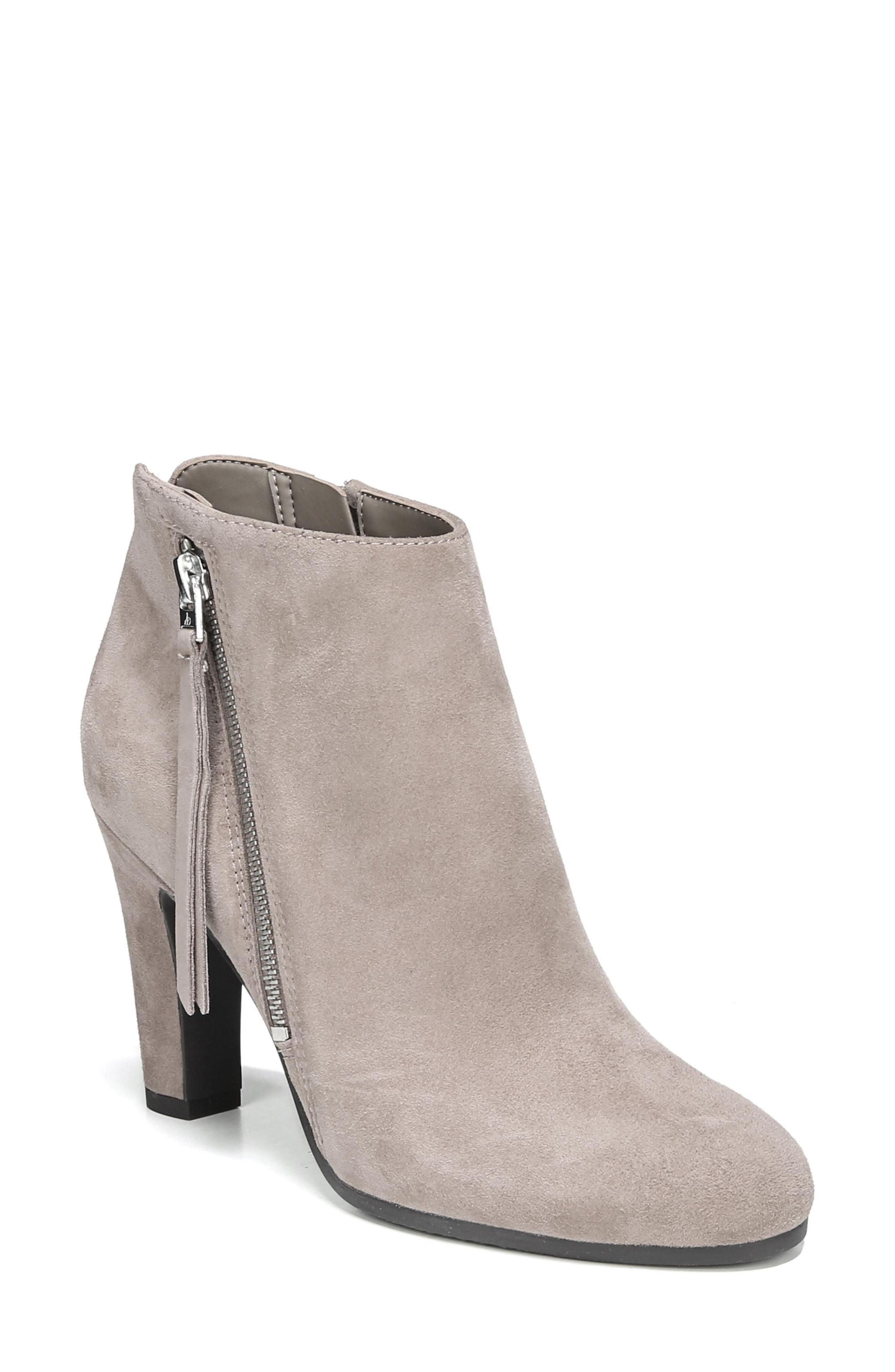 5d24c9e6d Lyst - Sam Edelman Sadee Angle Zip Bootie in Gray