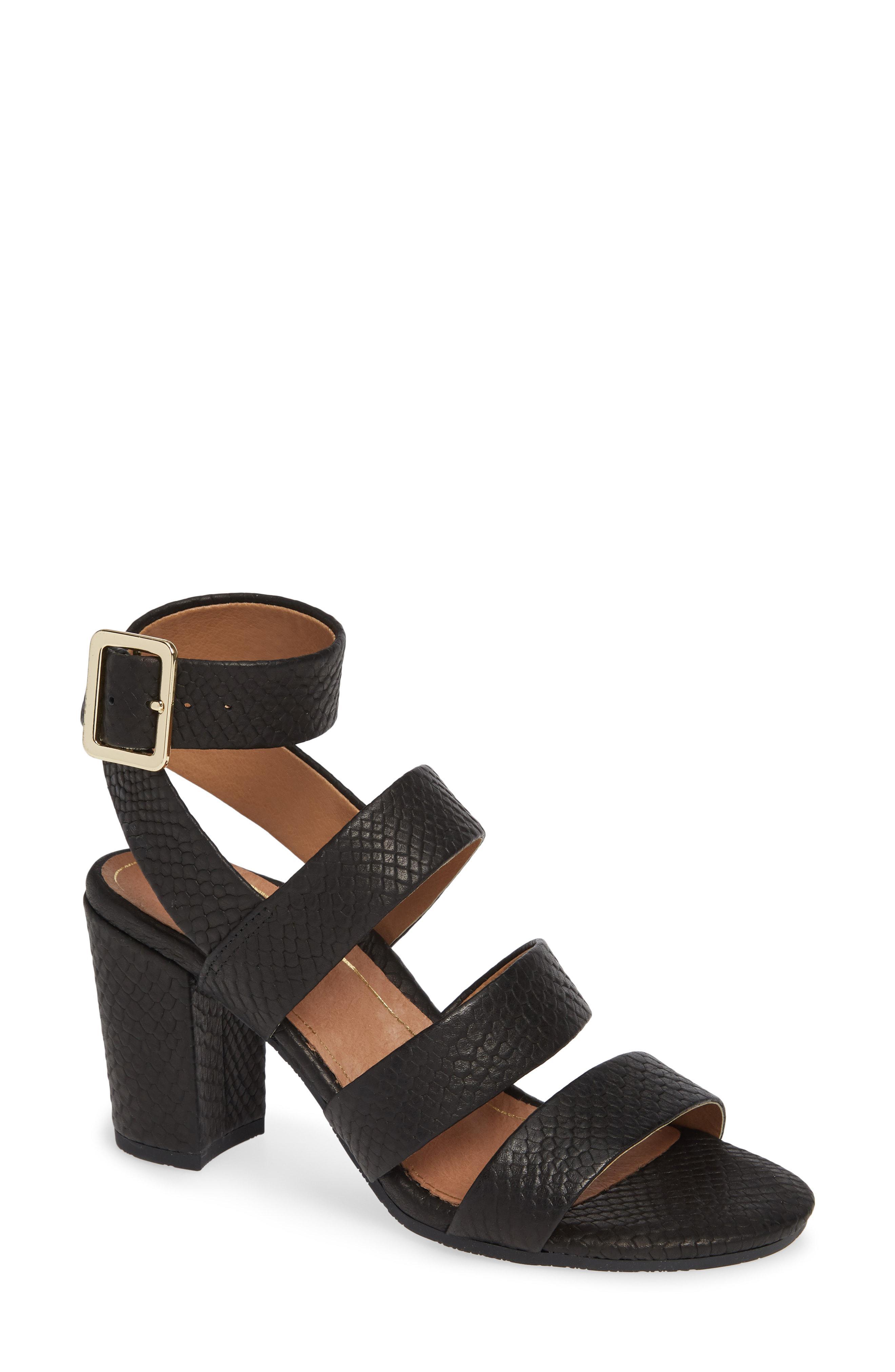 9d1d24f6f607 Lyst - Vionic Blaire Block Heel Sandal in Brown