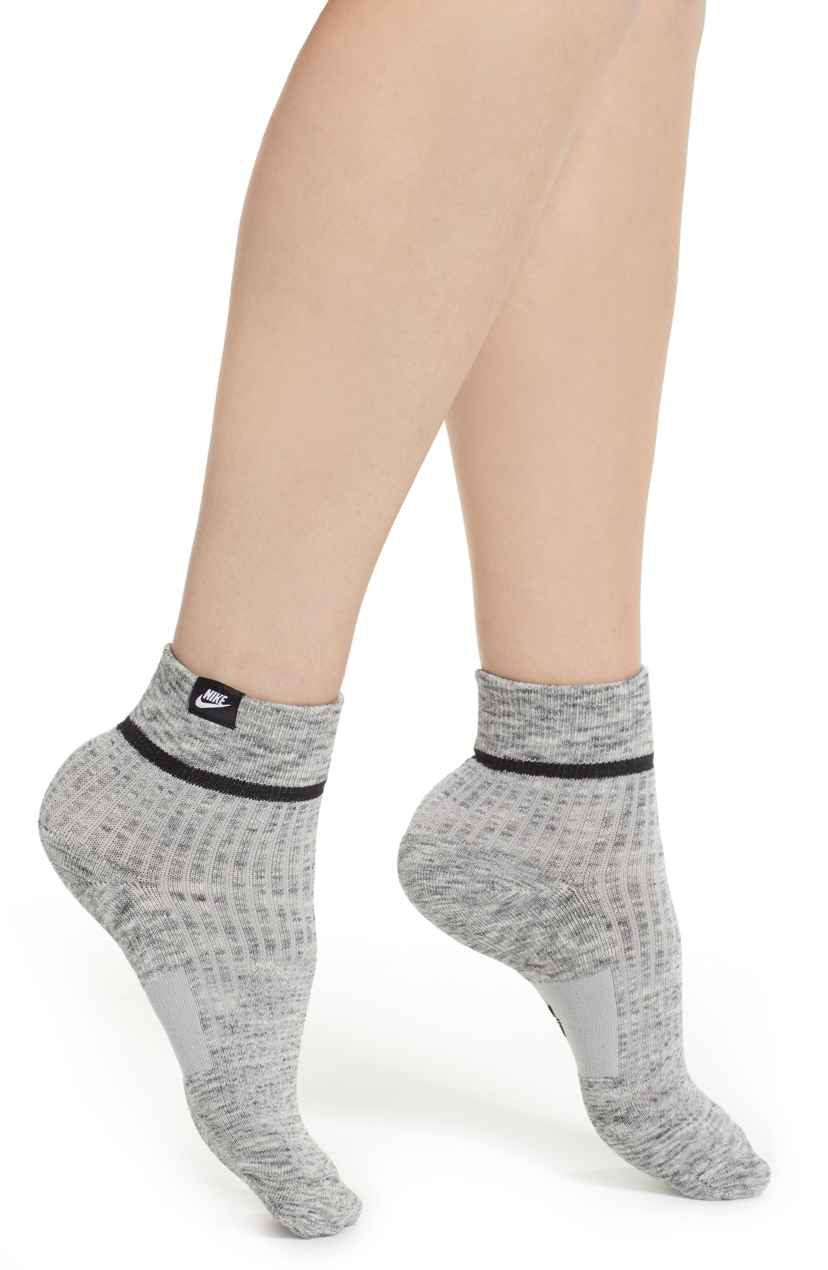 065212cbcb Nike 2-pack Snkr Sox Essential Ankle Socks in Gray - Lyst