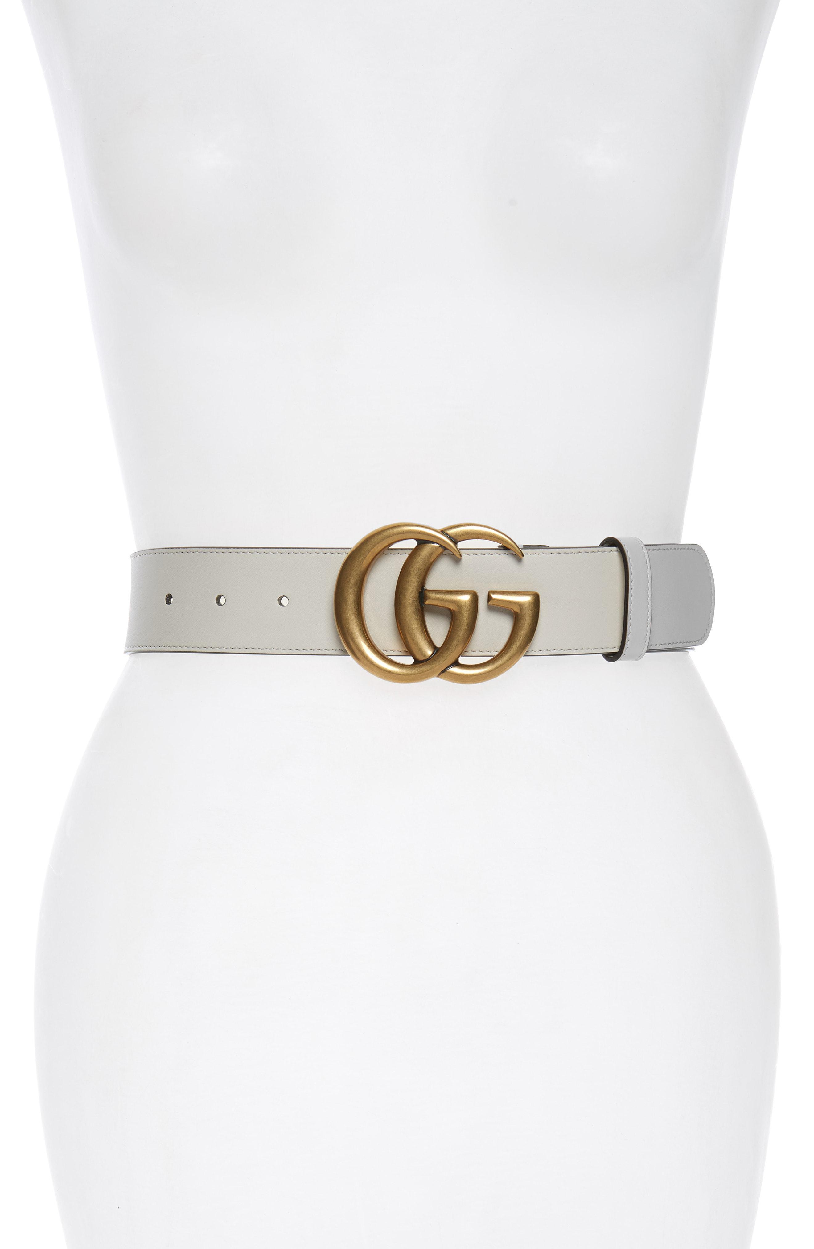 9621d4eb4 Gucci Cintura Donna Leather Belt - Lyst