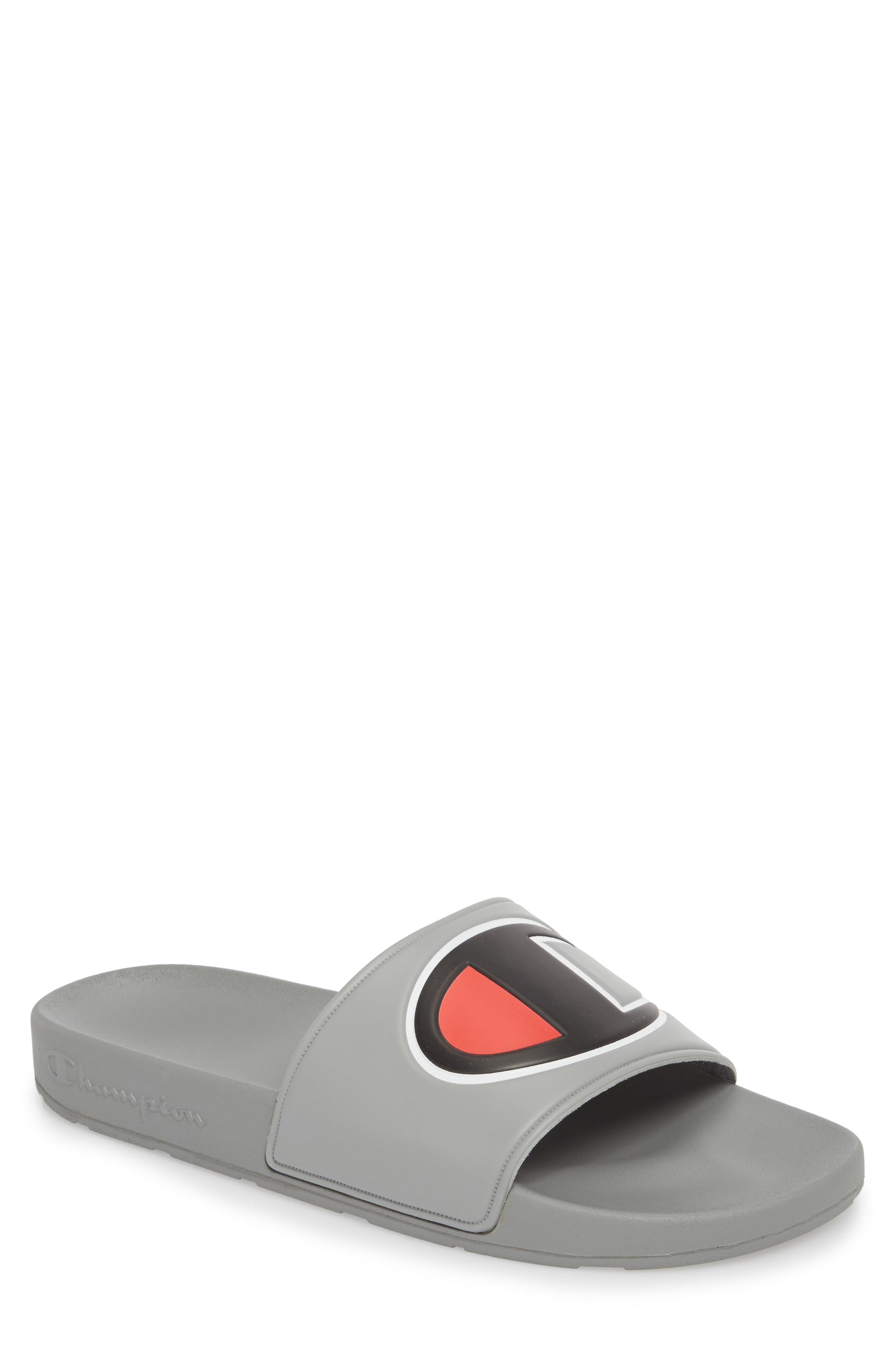 34fe01d6351 Lyst - Champion Ipo Sports Slide Sandal in Gray for Men