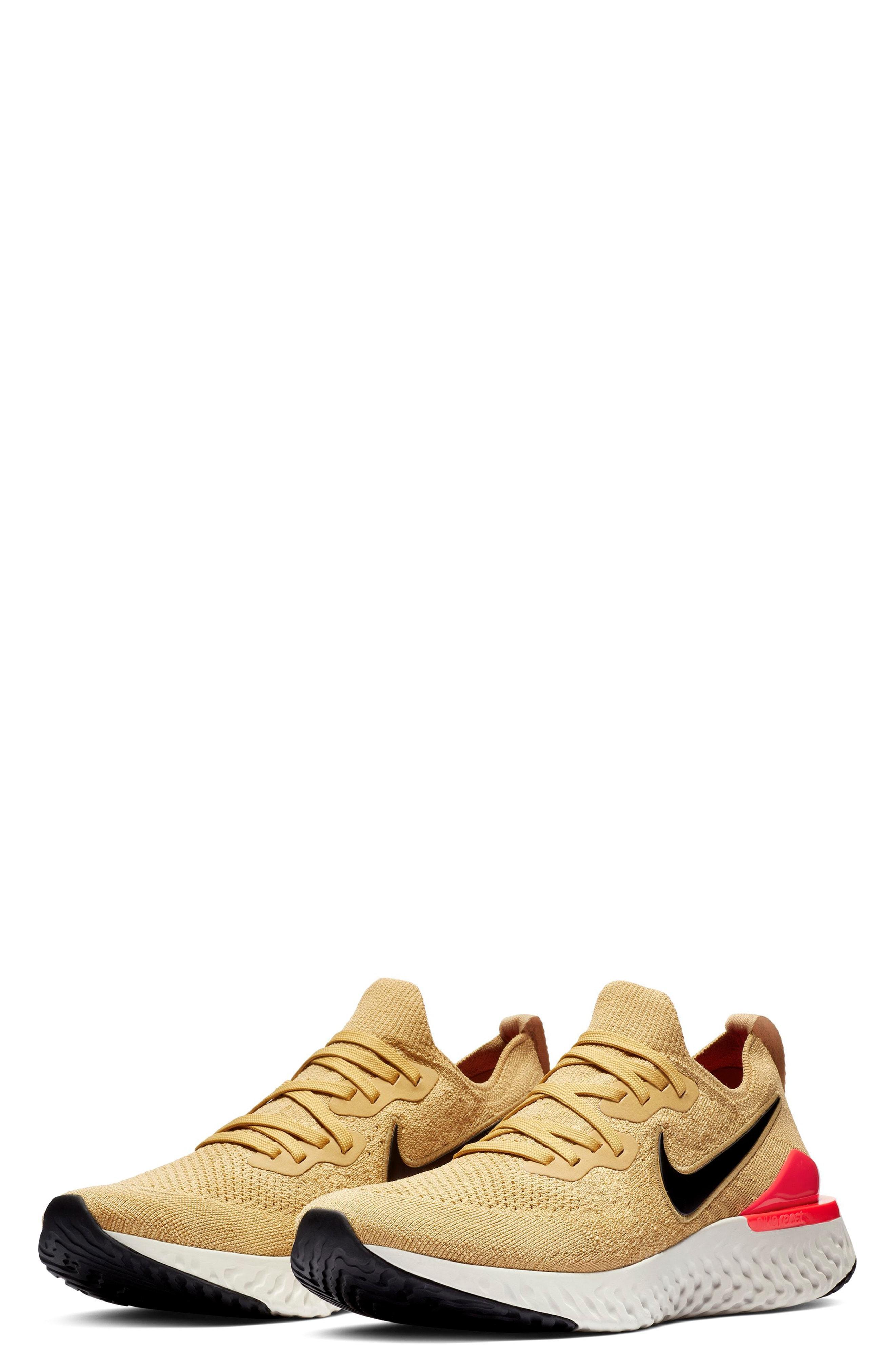 1a5687786ddf45 Lyst - Nike Epic React Flyknit 2 Running Shoe in Metallic for Men ...