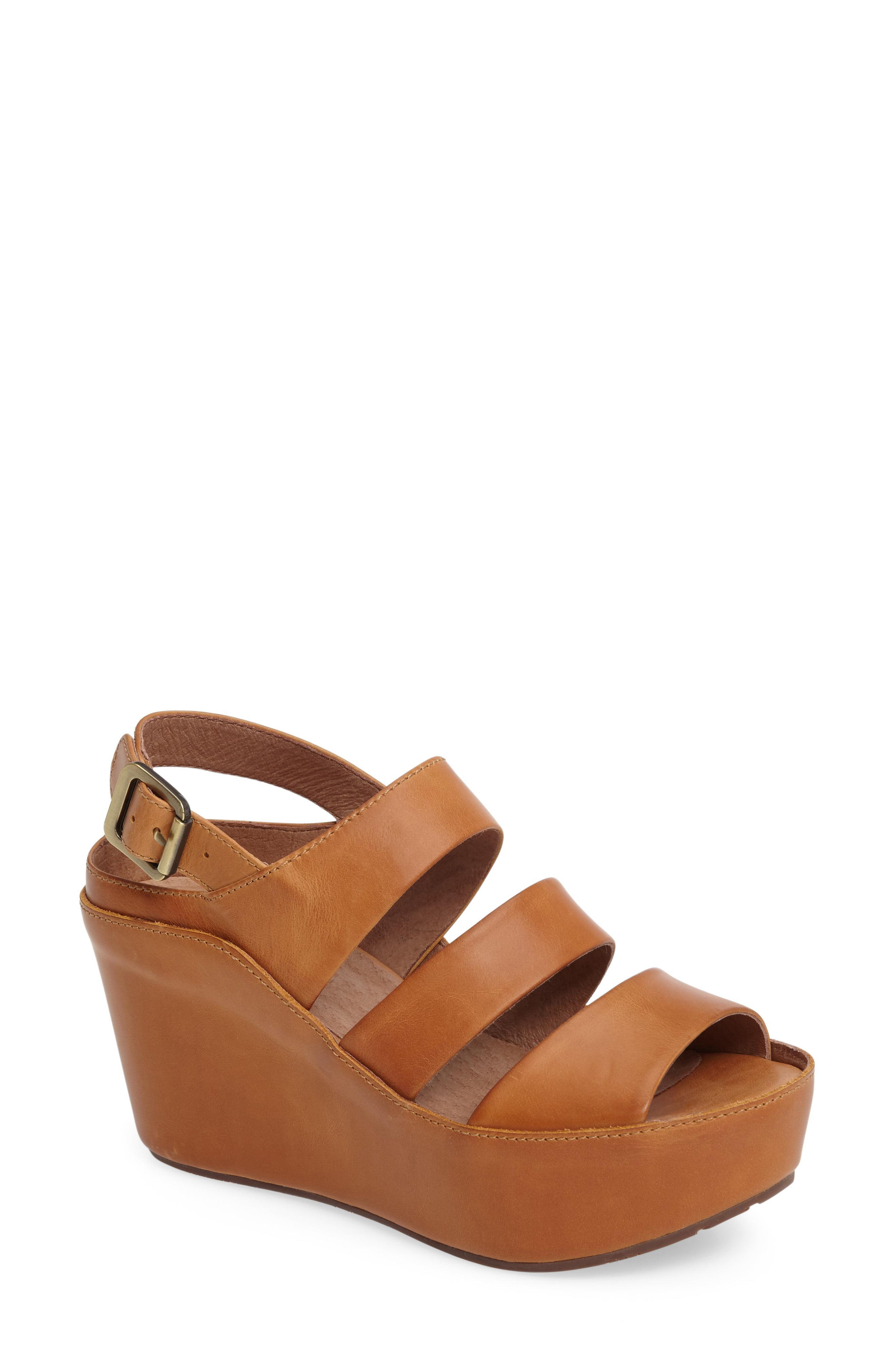 15805507b59f Lyst - Chocolat Blu Windsor Platform Wedge Sandal in Brown