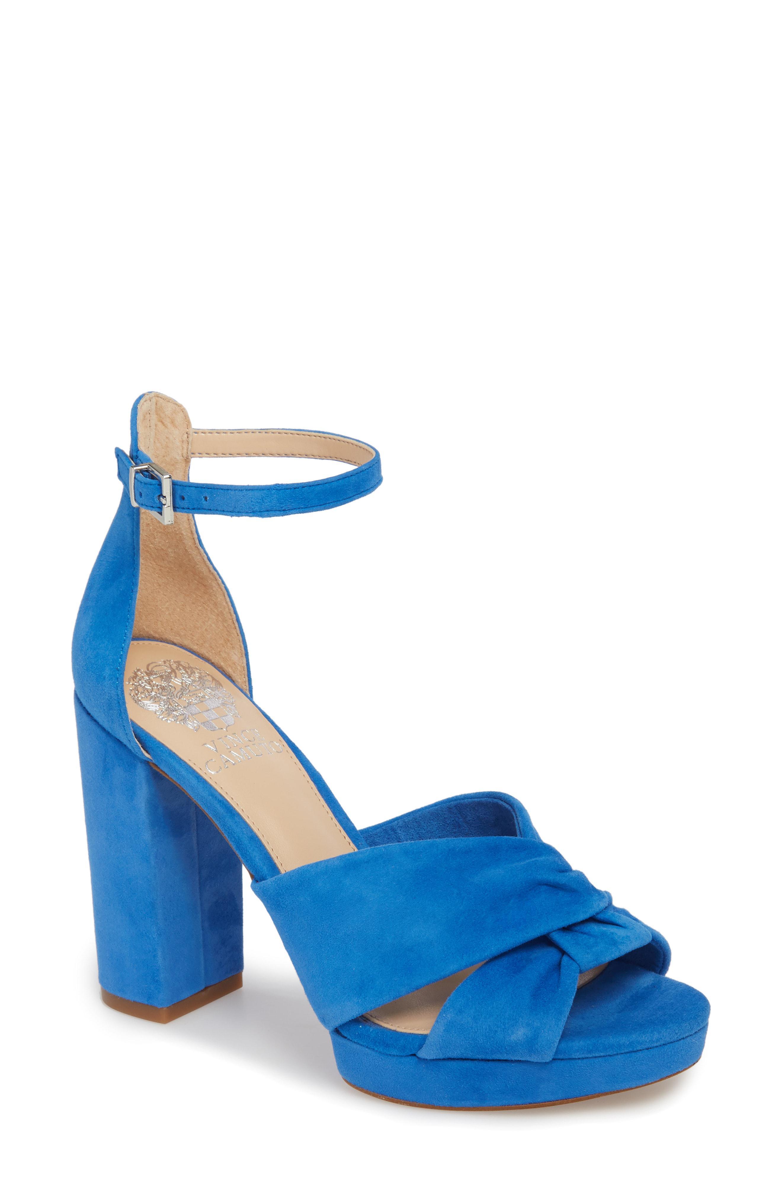 f496598822f7 Lyst - Vince Camuto Corlesta Sandal in Blue