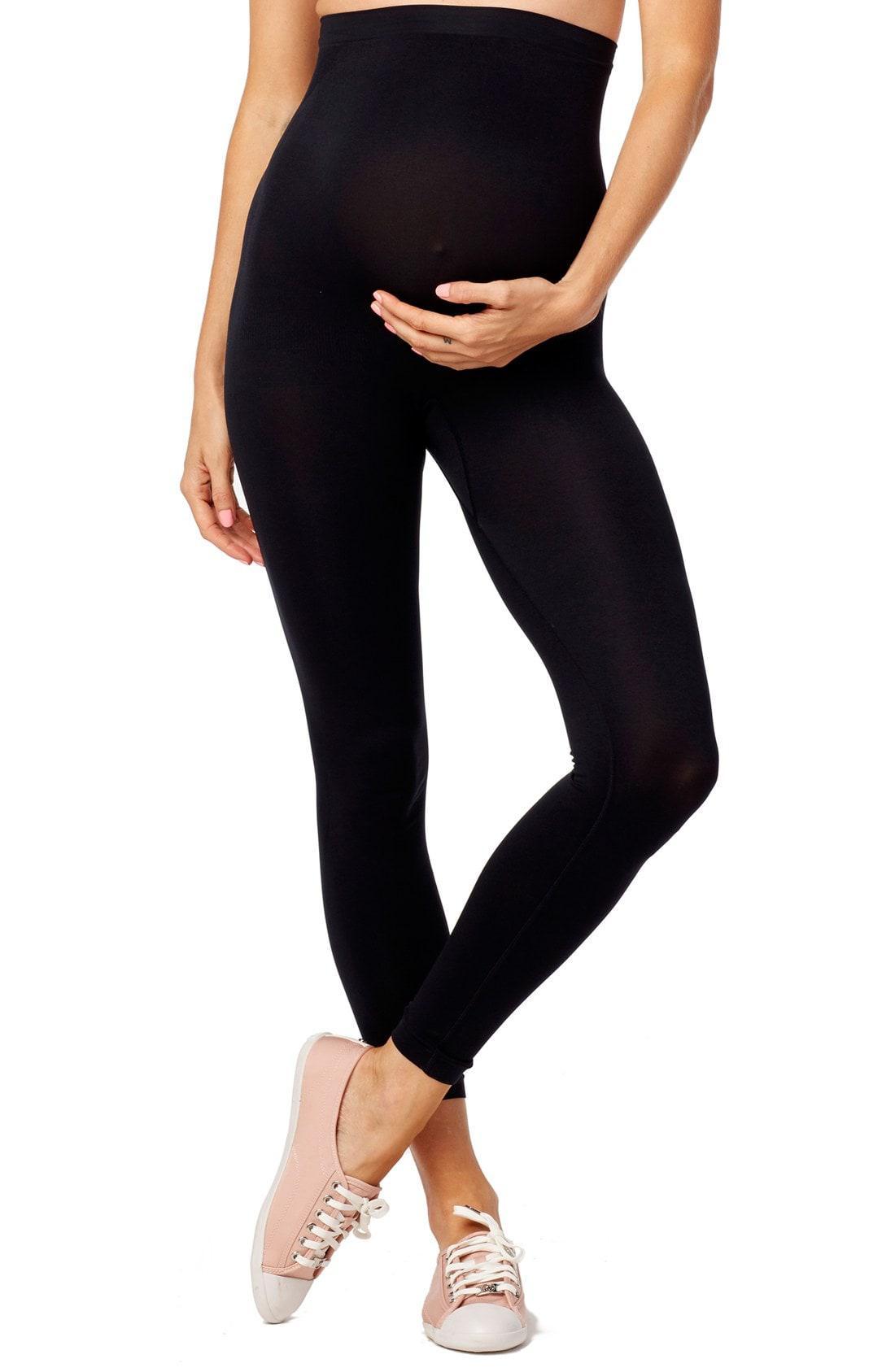 b6dda44c1d5aa Rosie Pope Seamless Maternity Leggings in Black - Lyst