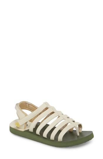 e4eff6970716 Lyst - The North Face Base Camp Plus Ii Gladiator Sandal in White