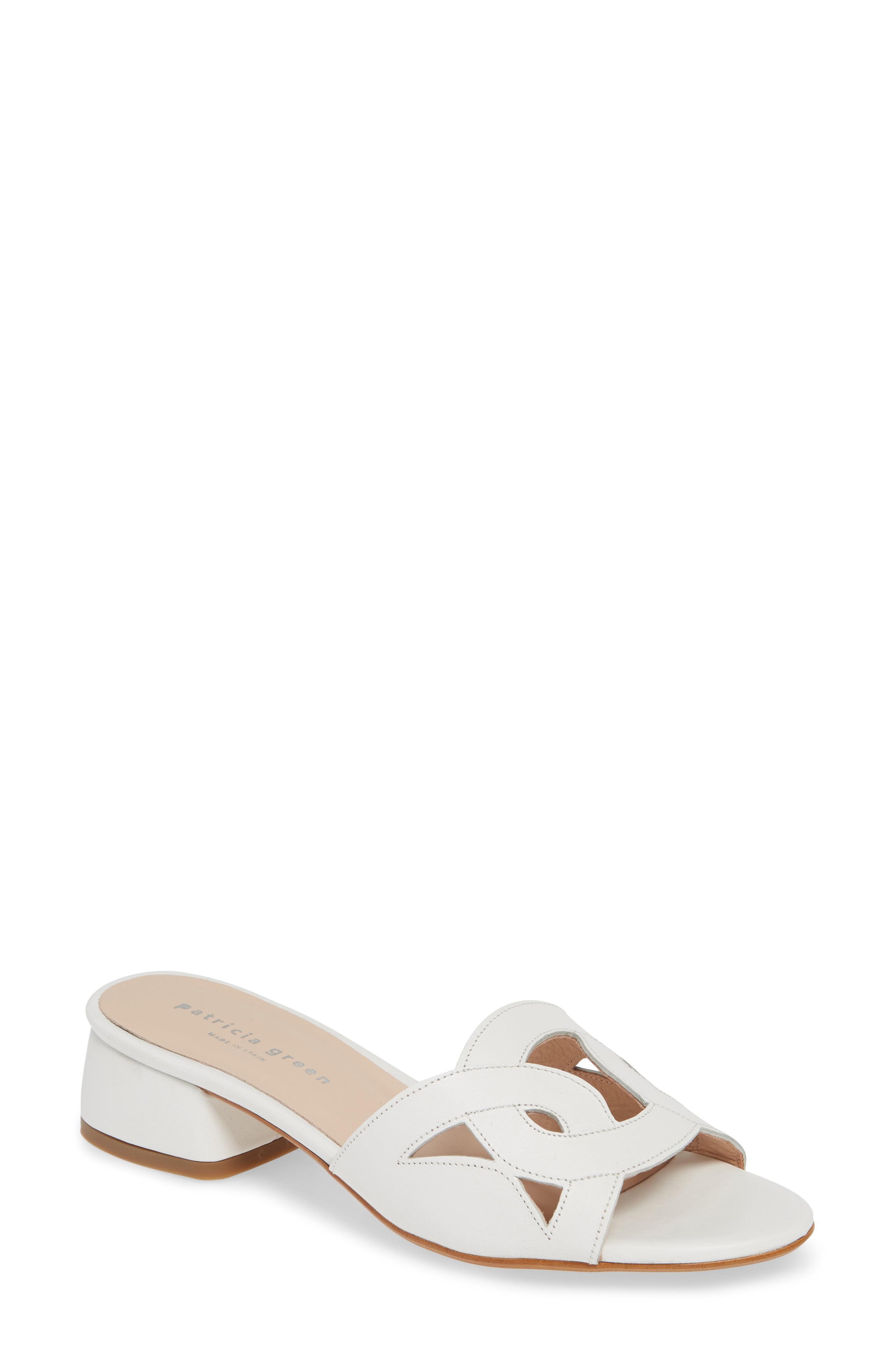 15871e390da Lyst - Patricia Green Boca Slide Sandal in White