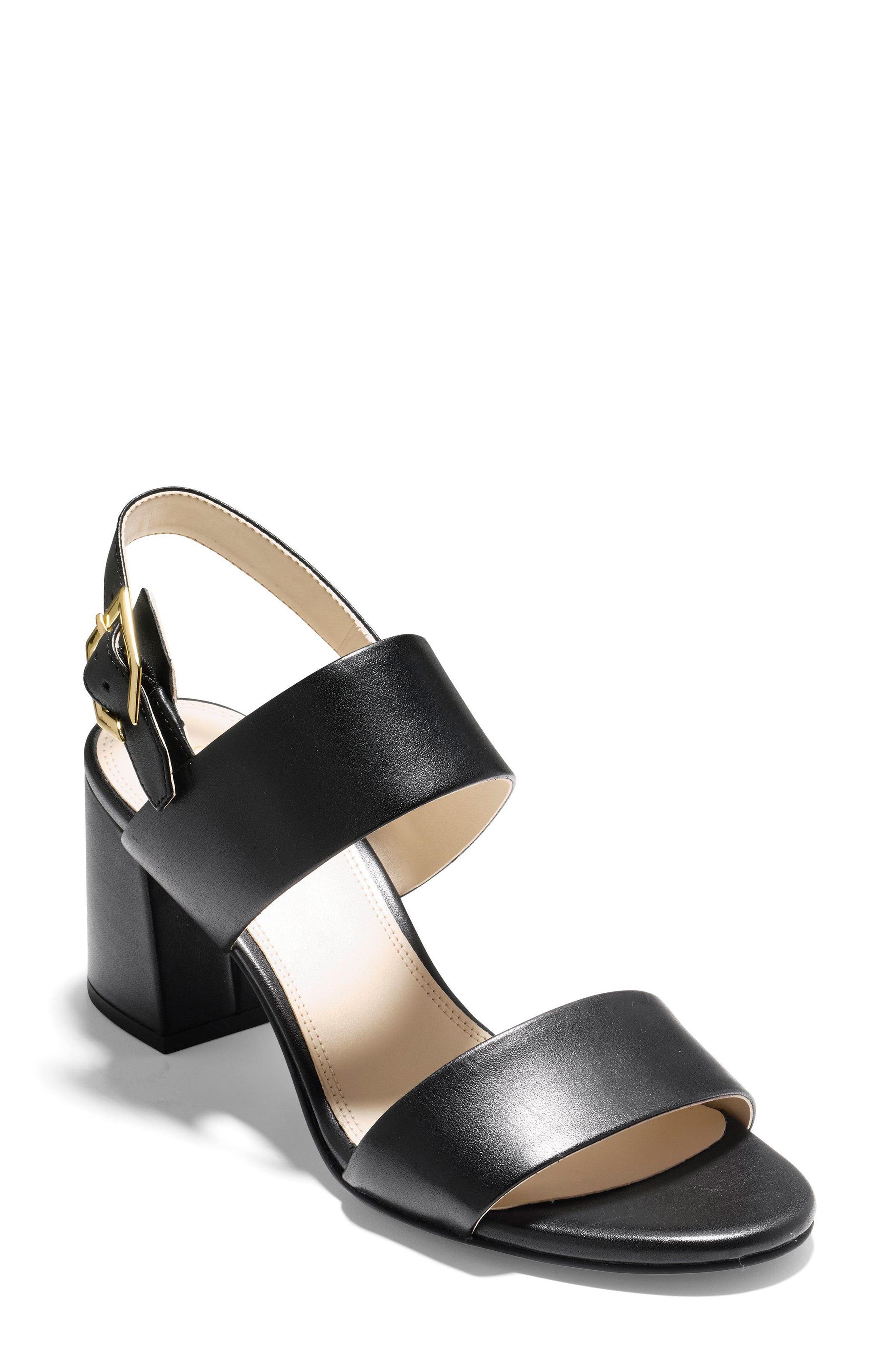 eba1e05f54 Lyst - Cole Haan Avani Block Heel Sandal in Black - Save 27%