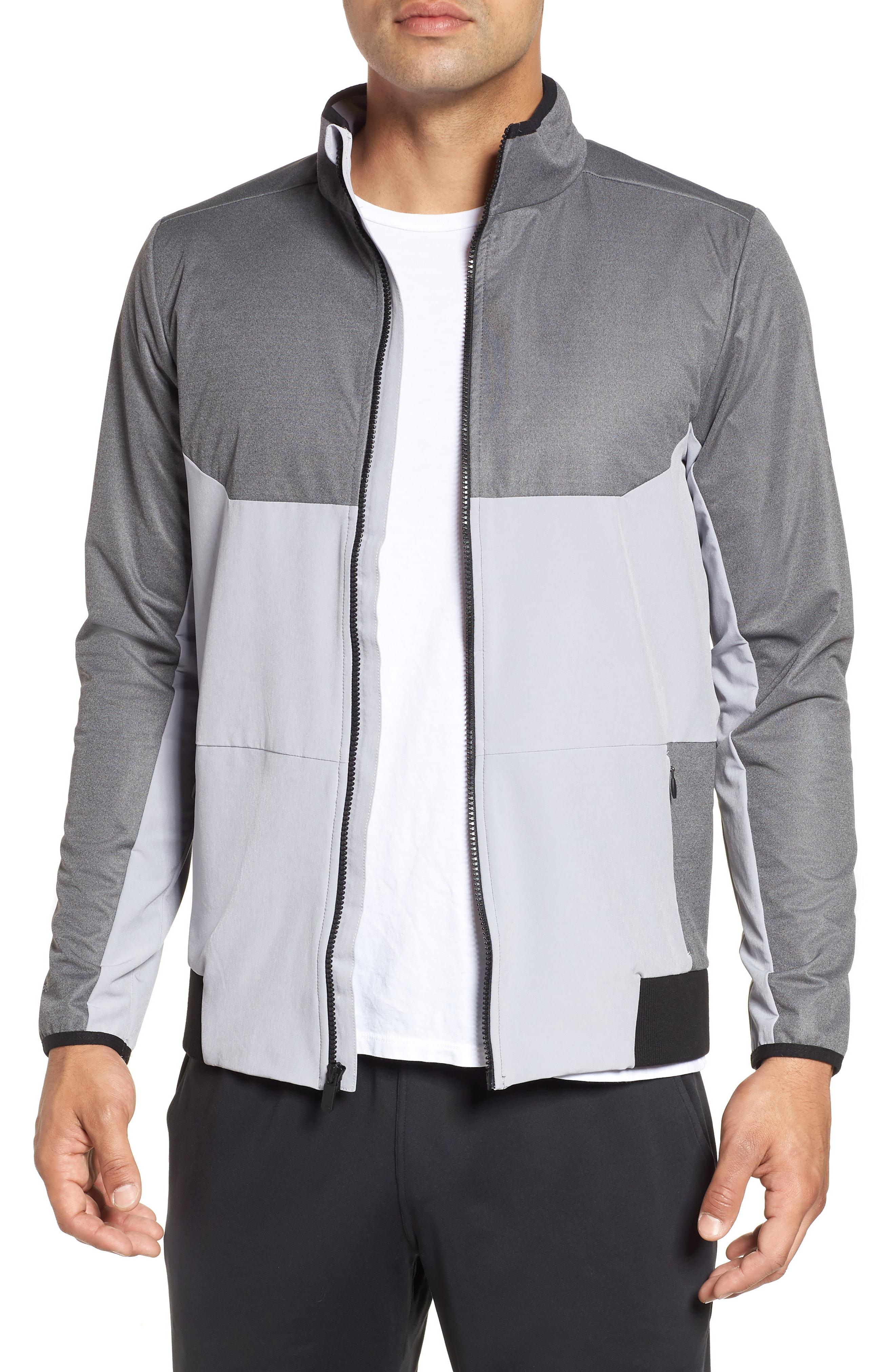 fd838834bd07 Lyst - Under Armour Gore Windstopper Full Zip Jacket in Gray for Men