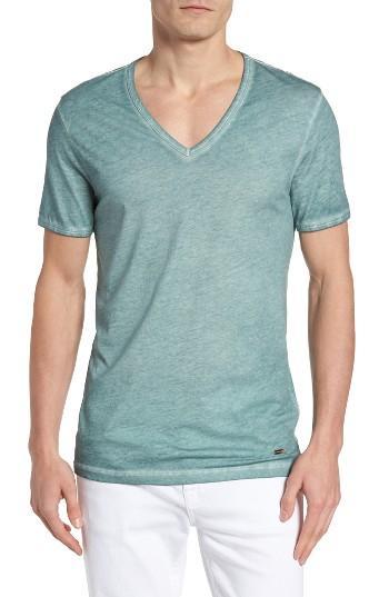 Lyst Boss Orange 39 Toulouse 39 V Neck T Shirt In Blue For Men