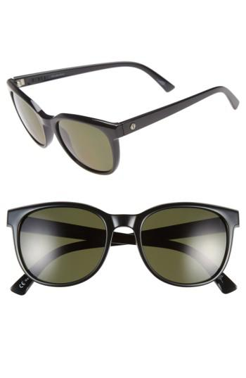 8c6e1c9408 Lyst - Electric  bengal  54mm Polarized Sunglasses - Gloss Black ...