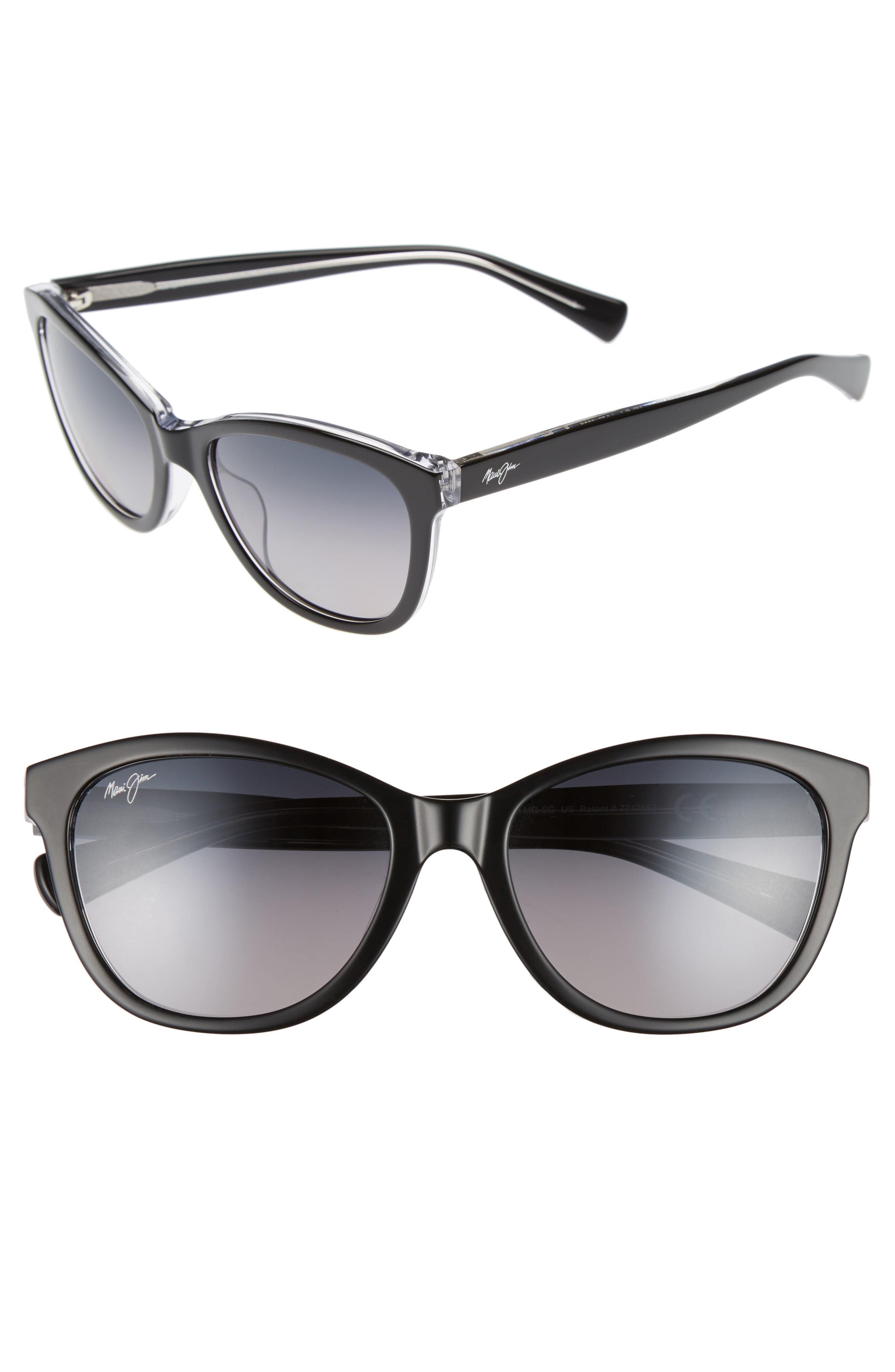 cecf153fc6a Lyst - Maui Jim Canna 54mm Polarized Cat Eye Sunglasses in Gray