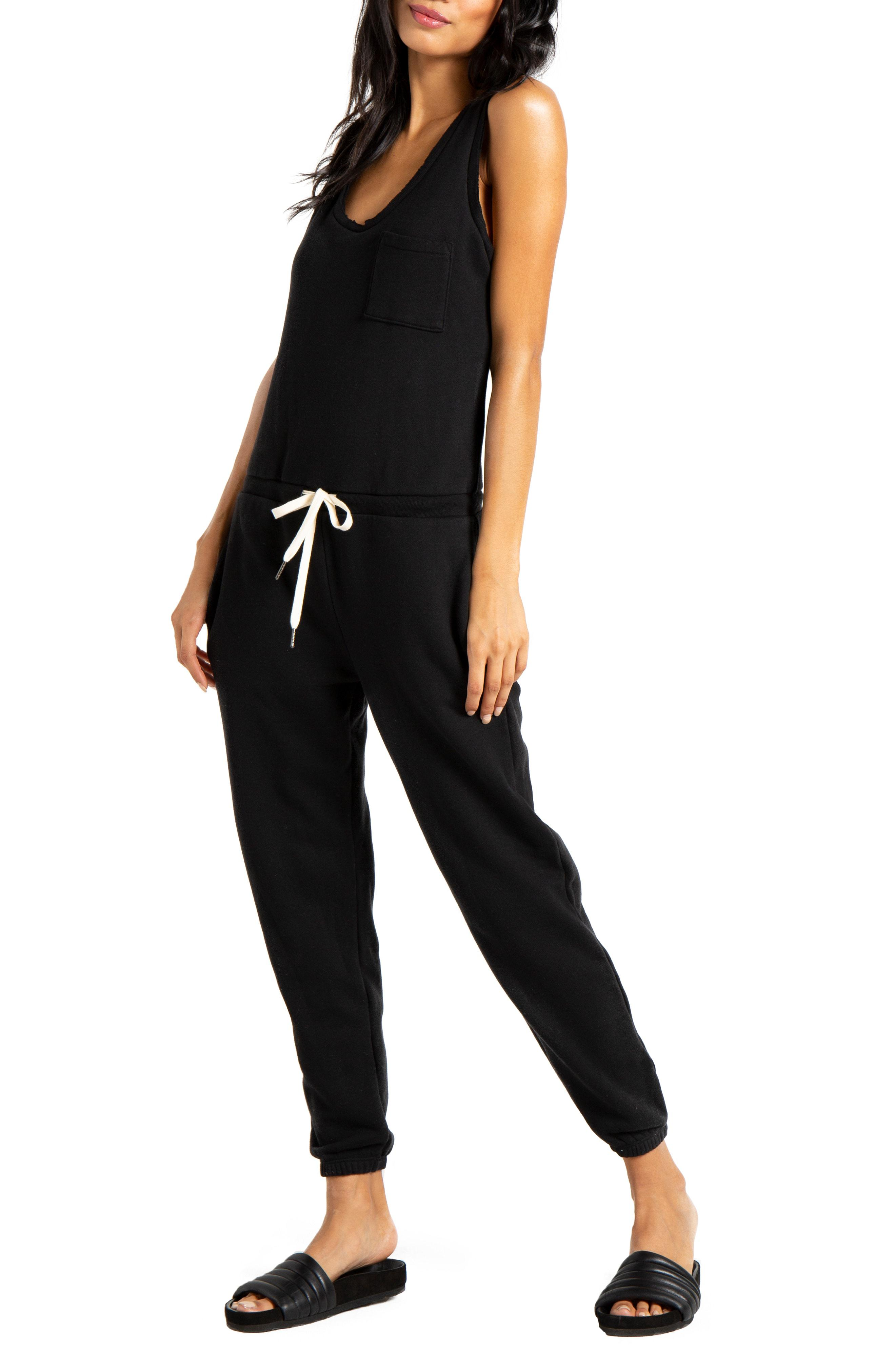 ab6907c1fc57 Lyst - N Philanthropy World Jumpsuit in Black