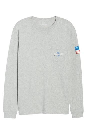 48fa8fba2 Lyst - Vineyard Vines Marlin 98 Long Sleeve Pocket T-shirt